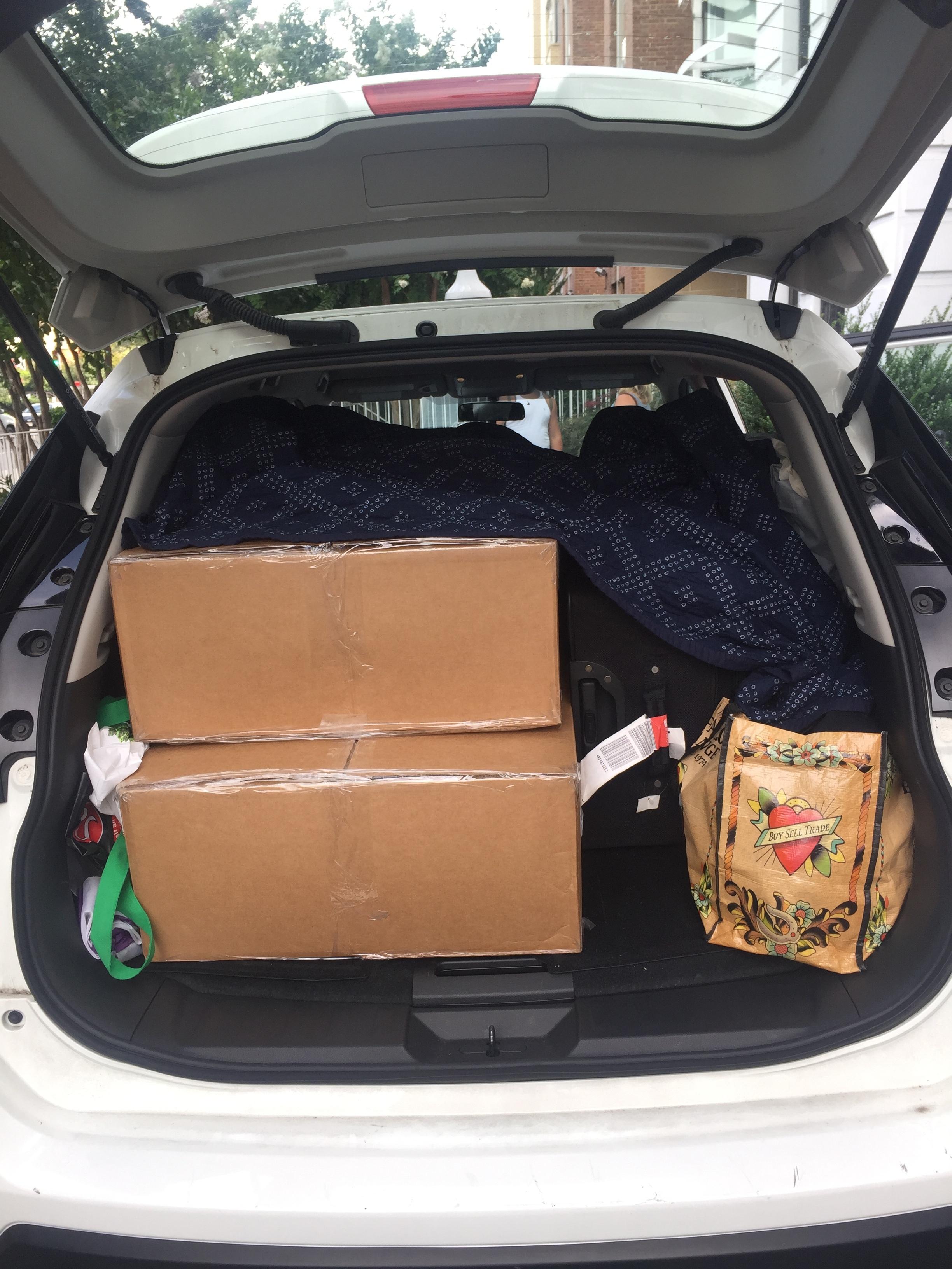 Road Trip ReadyP.S. The mattress didn't fit :( -
