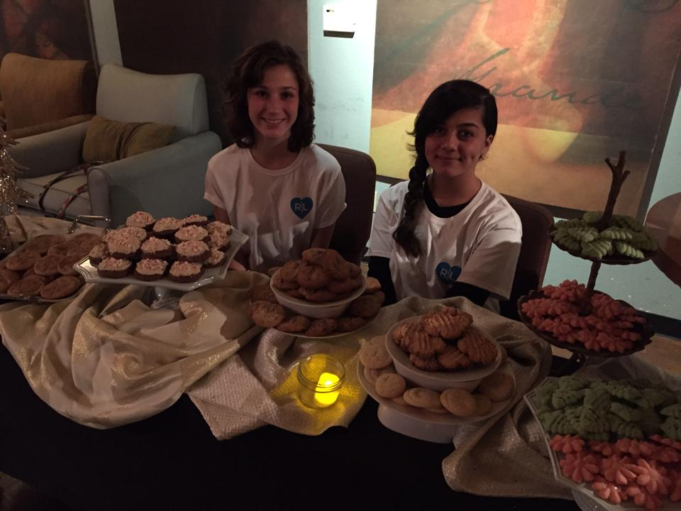 These young ladies planned a bake sale.