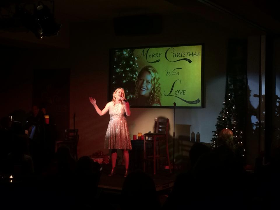 Melanie hosted a Christmas Benefit Concert and donated the proceeds.