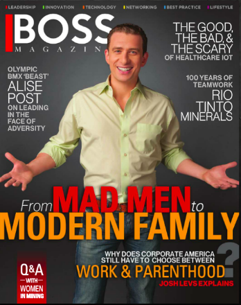 Check out Josh in BOSS Magazine. Click image above.