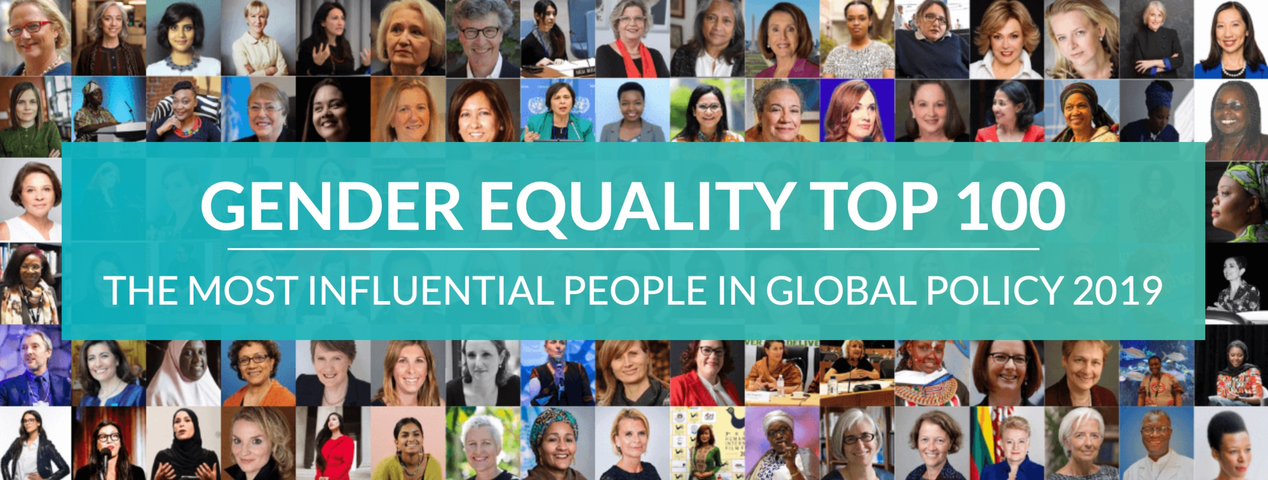 CONGRATS TO DR. KAUFMAN ON BEING NAMED TO APOLITICAL'S GENDER EQUALITY TOP 100 LIST (Click image above for details)