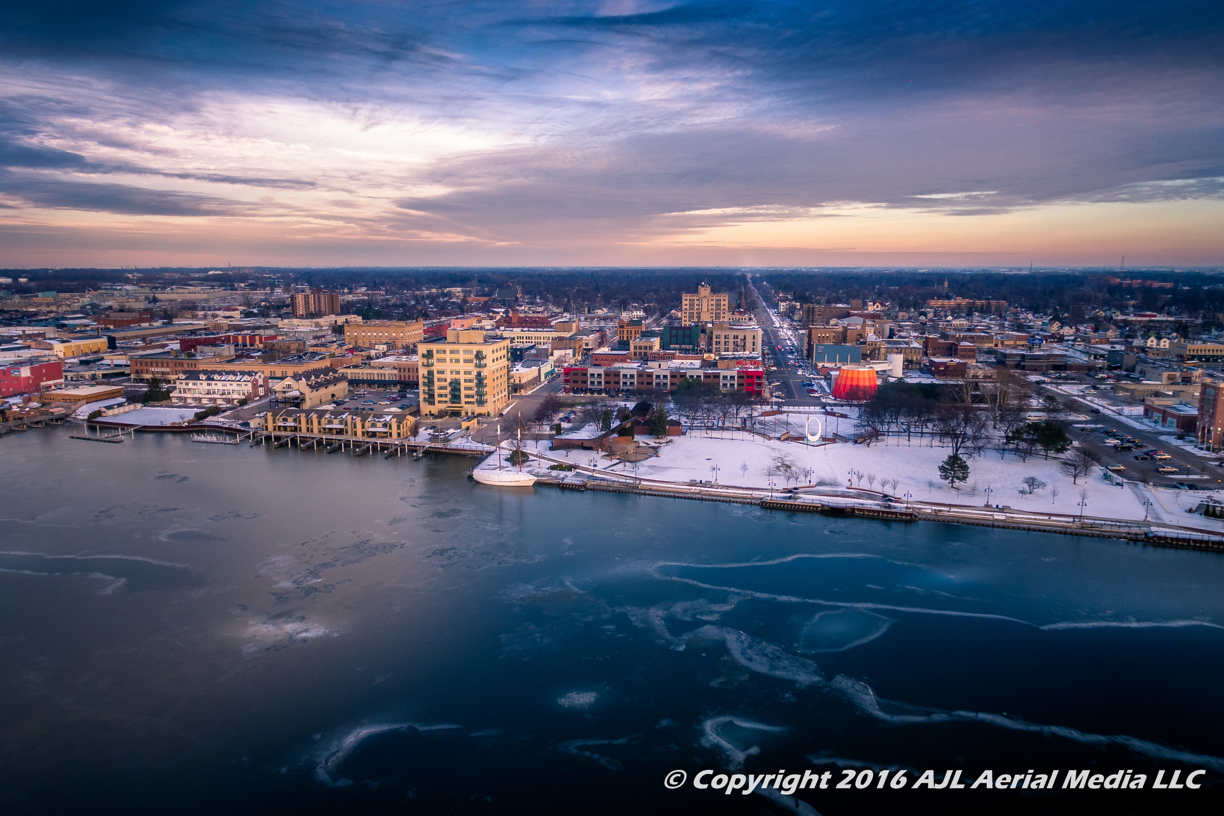 Downtown Bay City Winter 2016