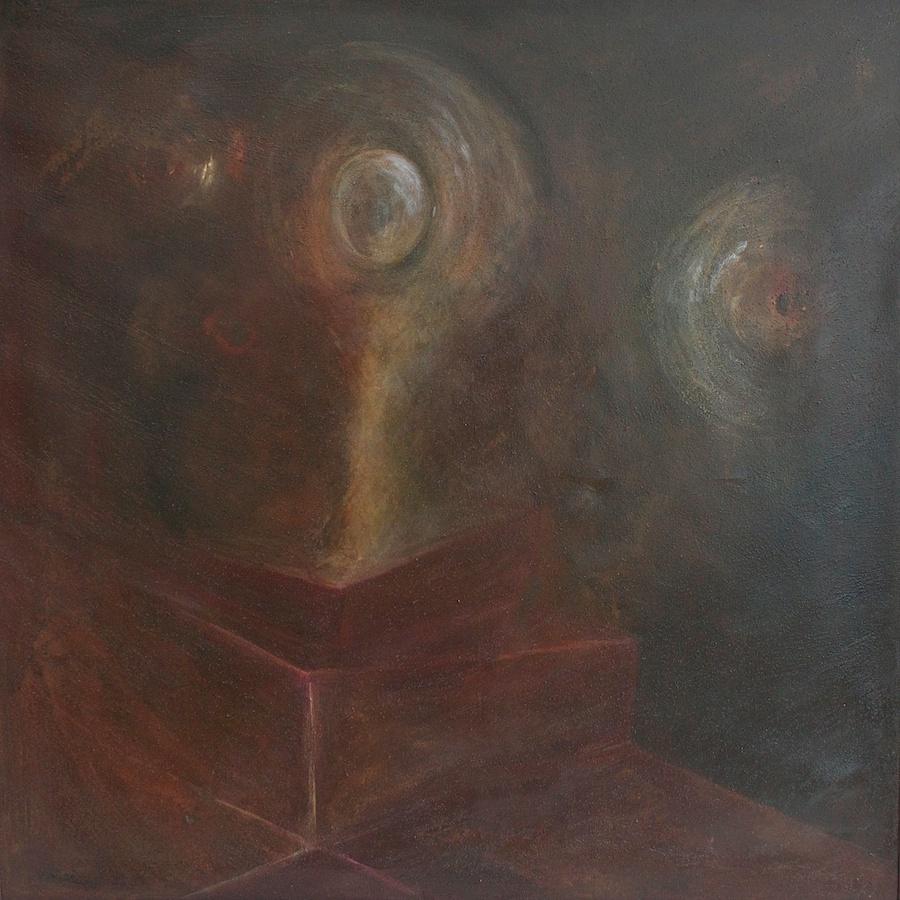 Umanoidi (Humanoids) - olio su tela (oil on canvas) - 1970