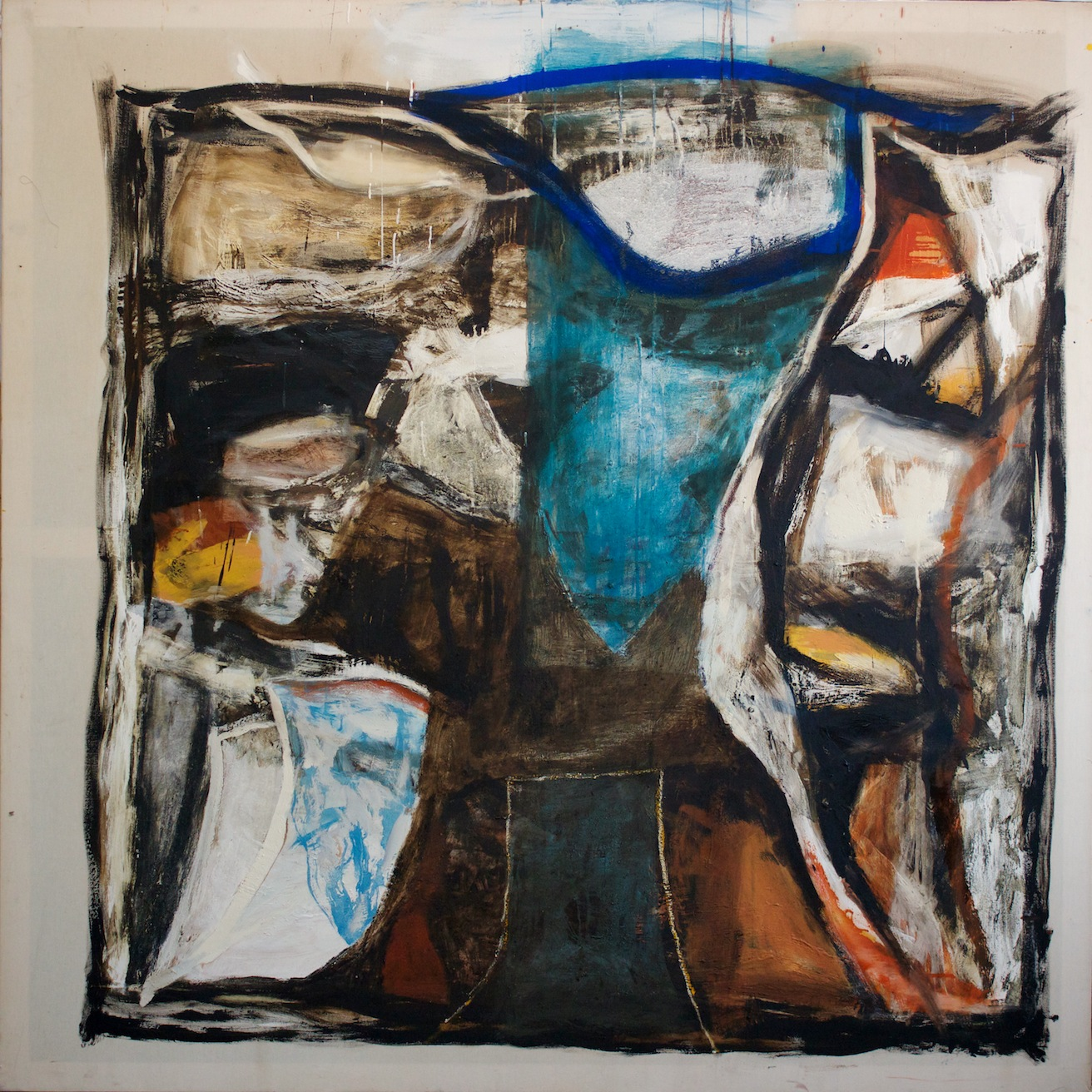 Marcello Mariani - Angelo Sterminatore 2 - Mixed media on canvas - 2010