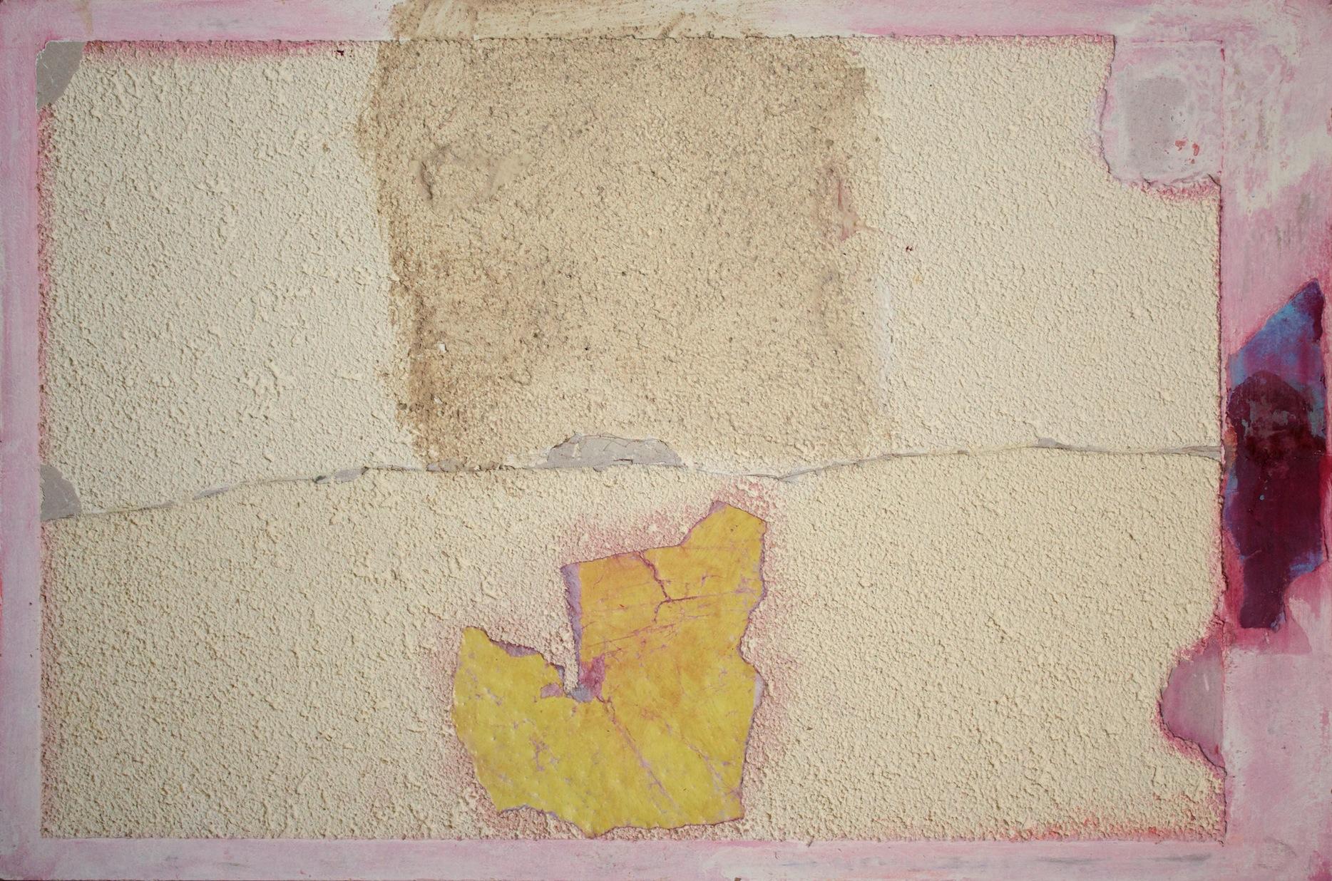 Marcello Mariani - Forma Archetipa - Plaster powder and mixed media on masonite - 2009