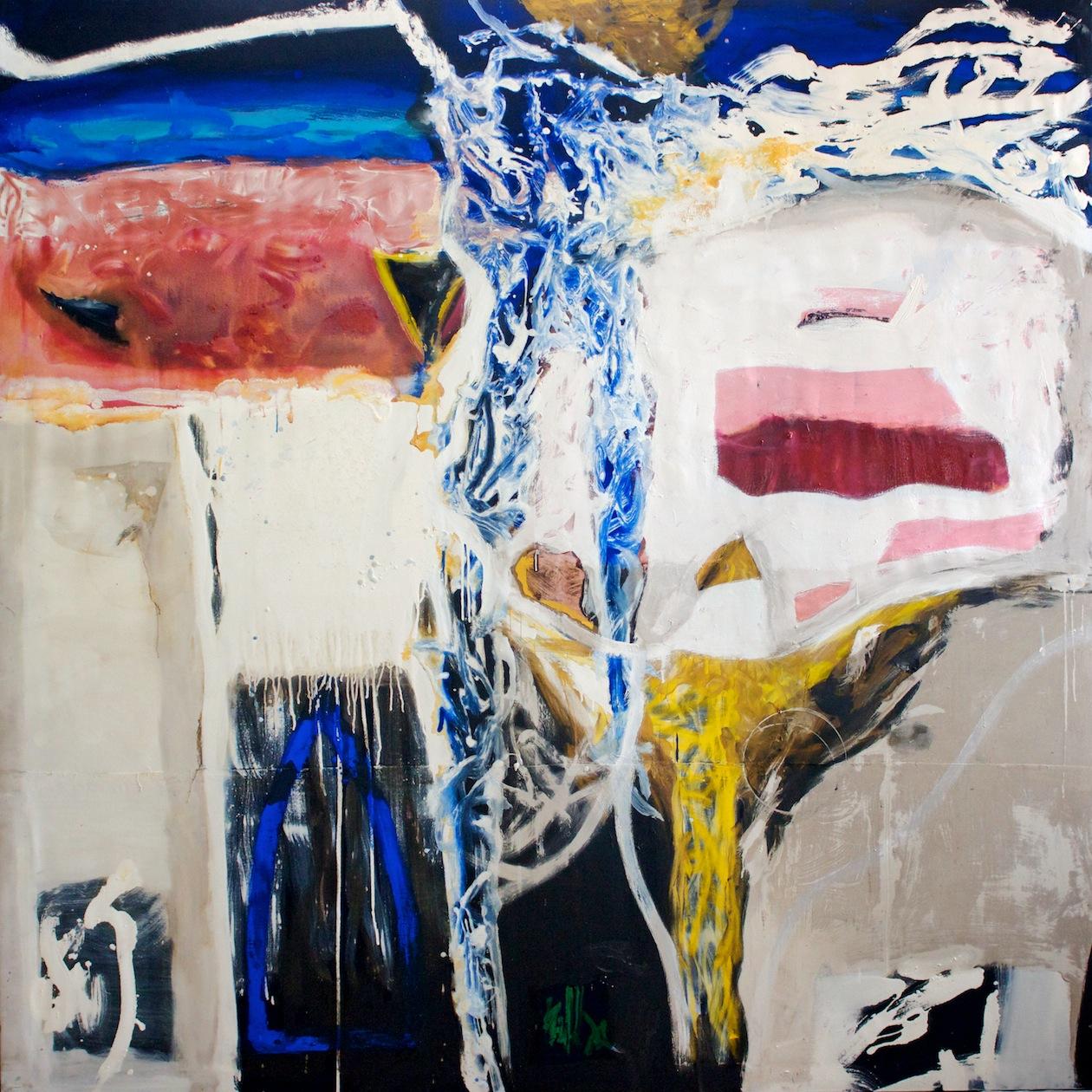 Marcello Mariani - Forma Archetipa - Oil on canvas - 2012