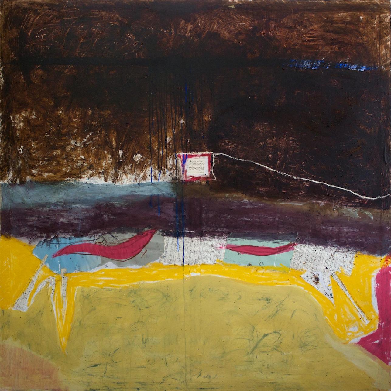 Marcello Mariani - Forma Archetipa - Oil on canvas - 2010