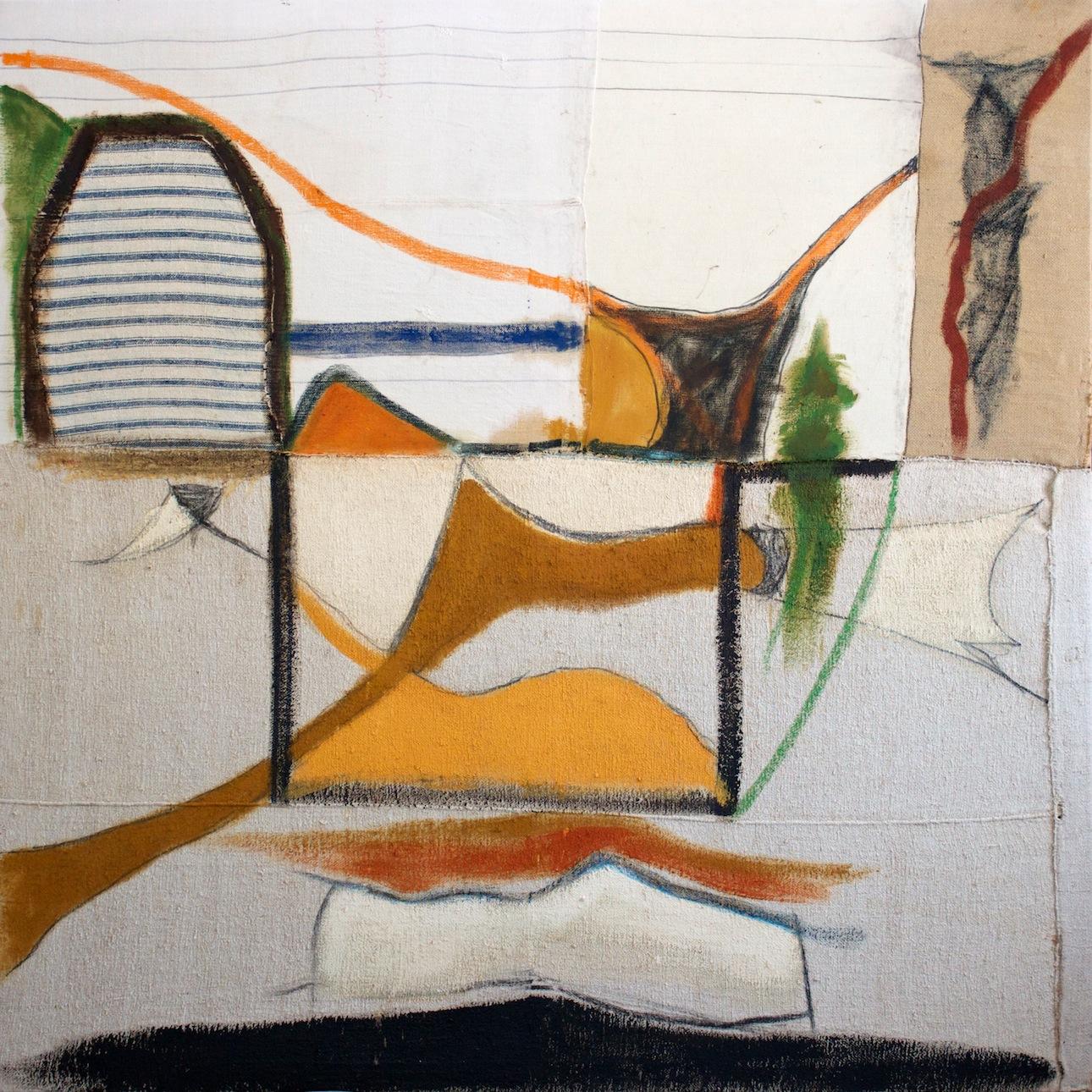 Marcello Mariani - Forma Archetipa - Oil and mixed media on canvas - 1960/70