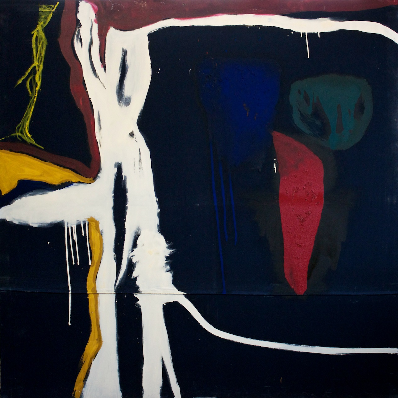 Marcello Mariani - Forma Archetipa - Oil and mixed media on canvas - 2012