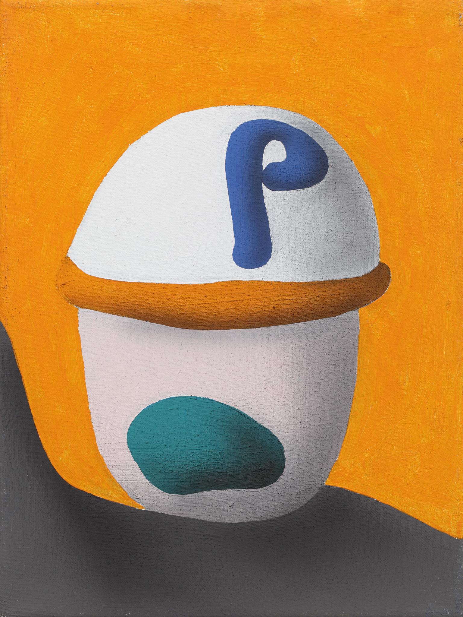 Kris Lou, 2004, acrylic on canvas, 40 x 30 cm