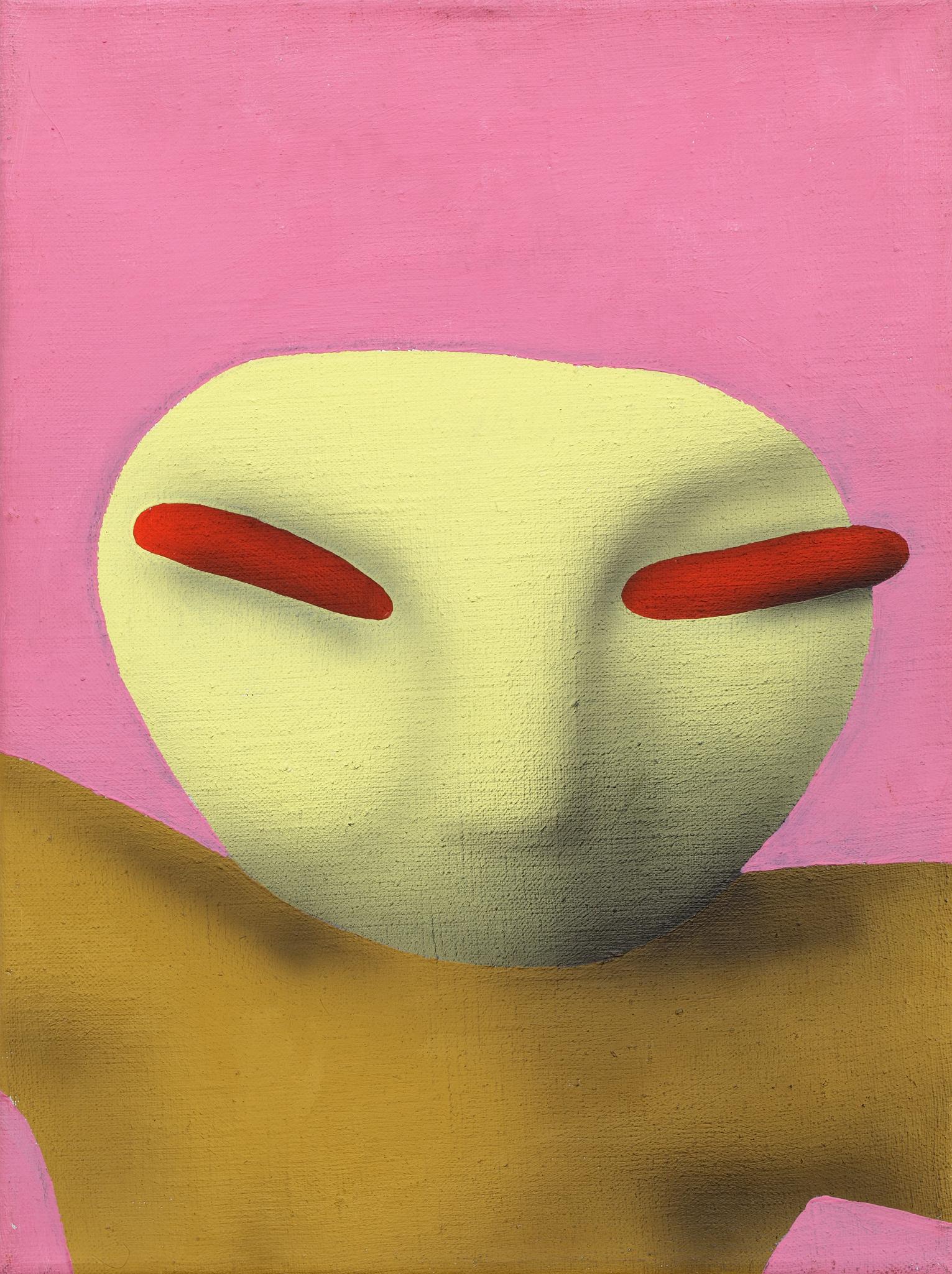 Yakuza, 2004, acrylic on canvas, 40 x 30 cm