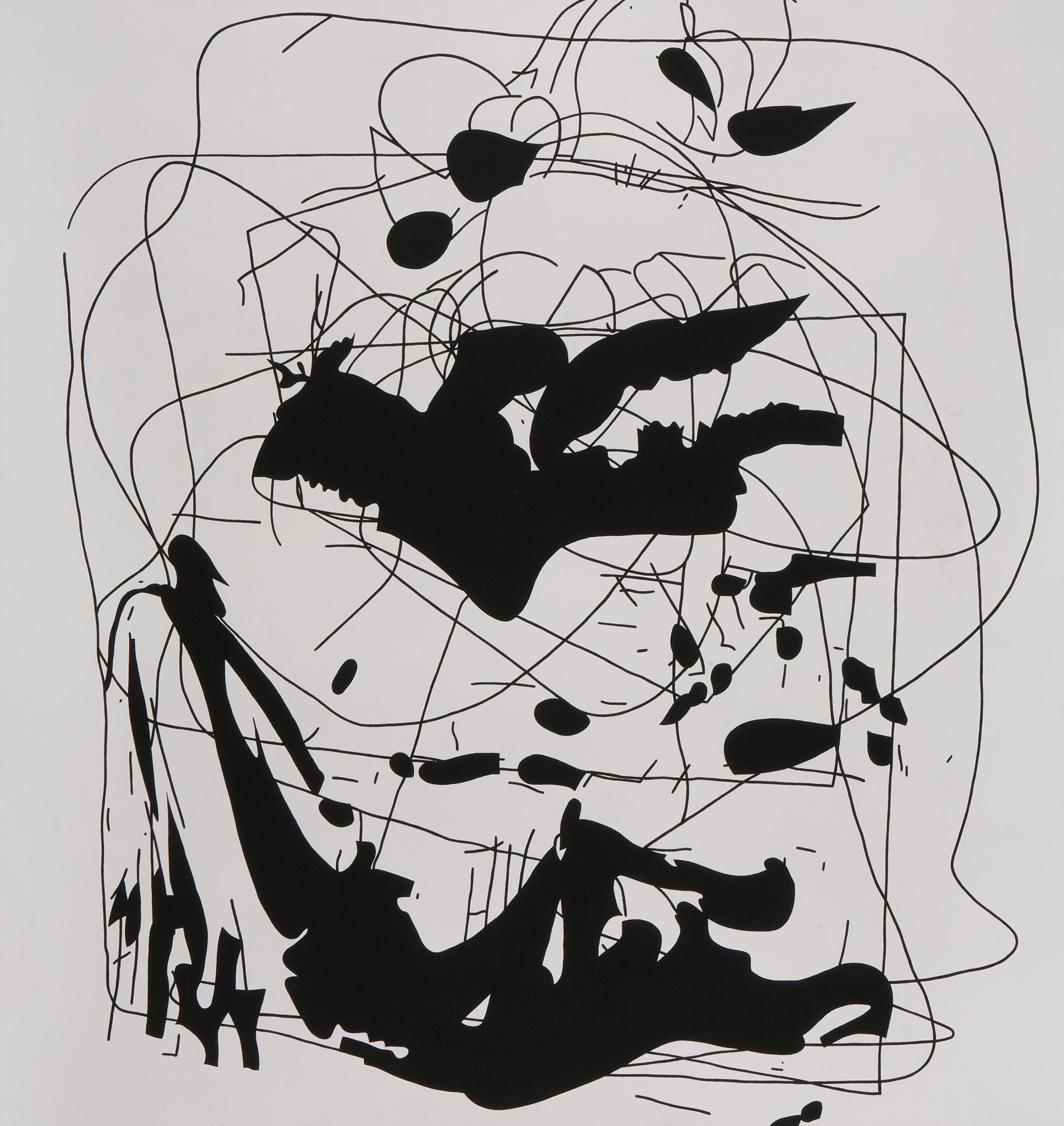 Set III. /Youwee/, 2006, acrylic on canvas, 200 x 200 cm