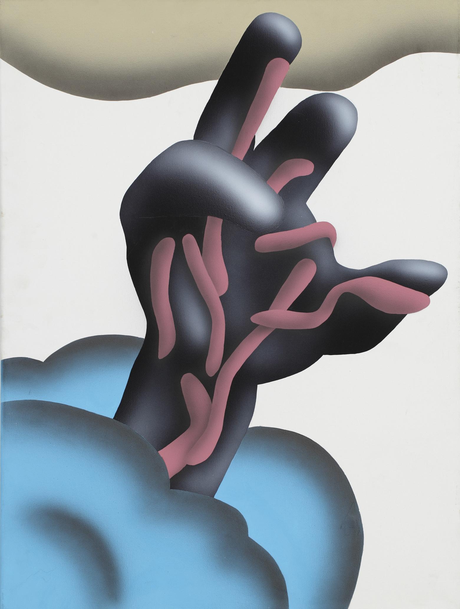 Arms, 2008, acrylic on canvas, 190 x 220 cm