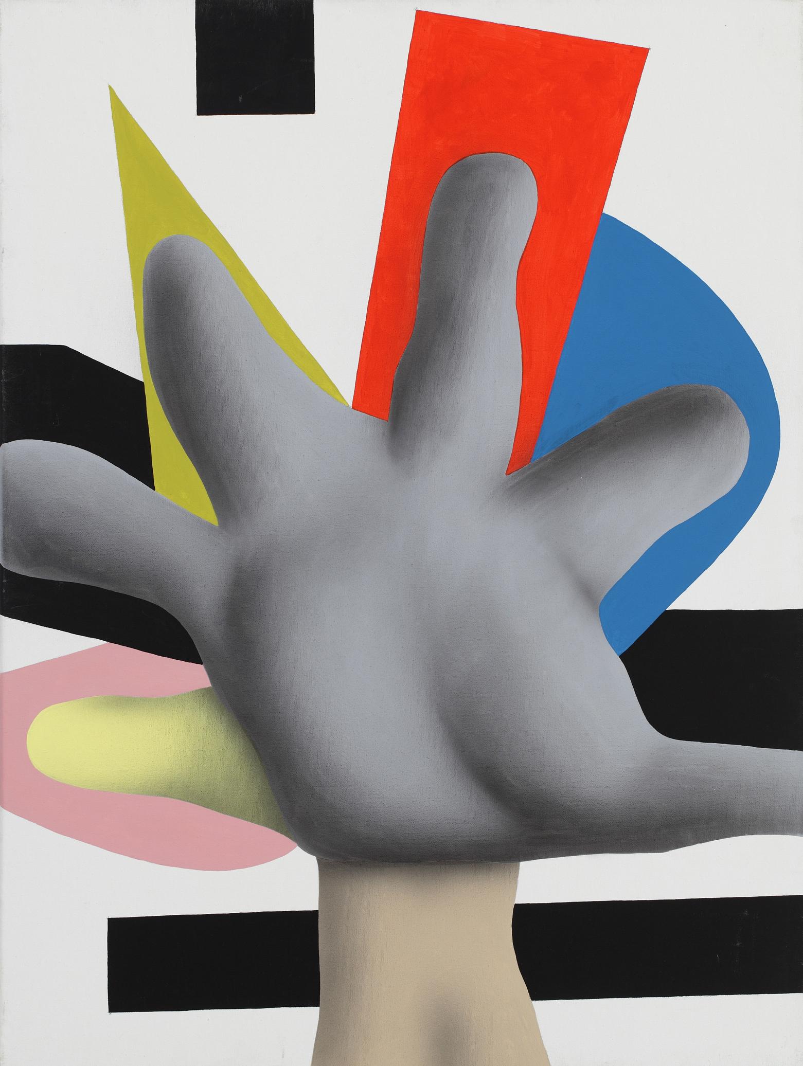 Sixth Finger, 2008, acrylic on canvas, 80 x 60 cm