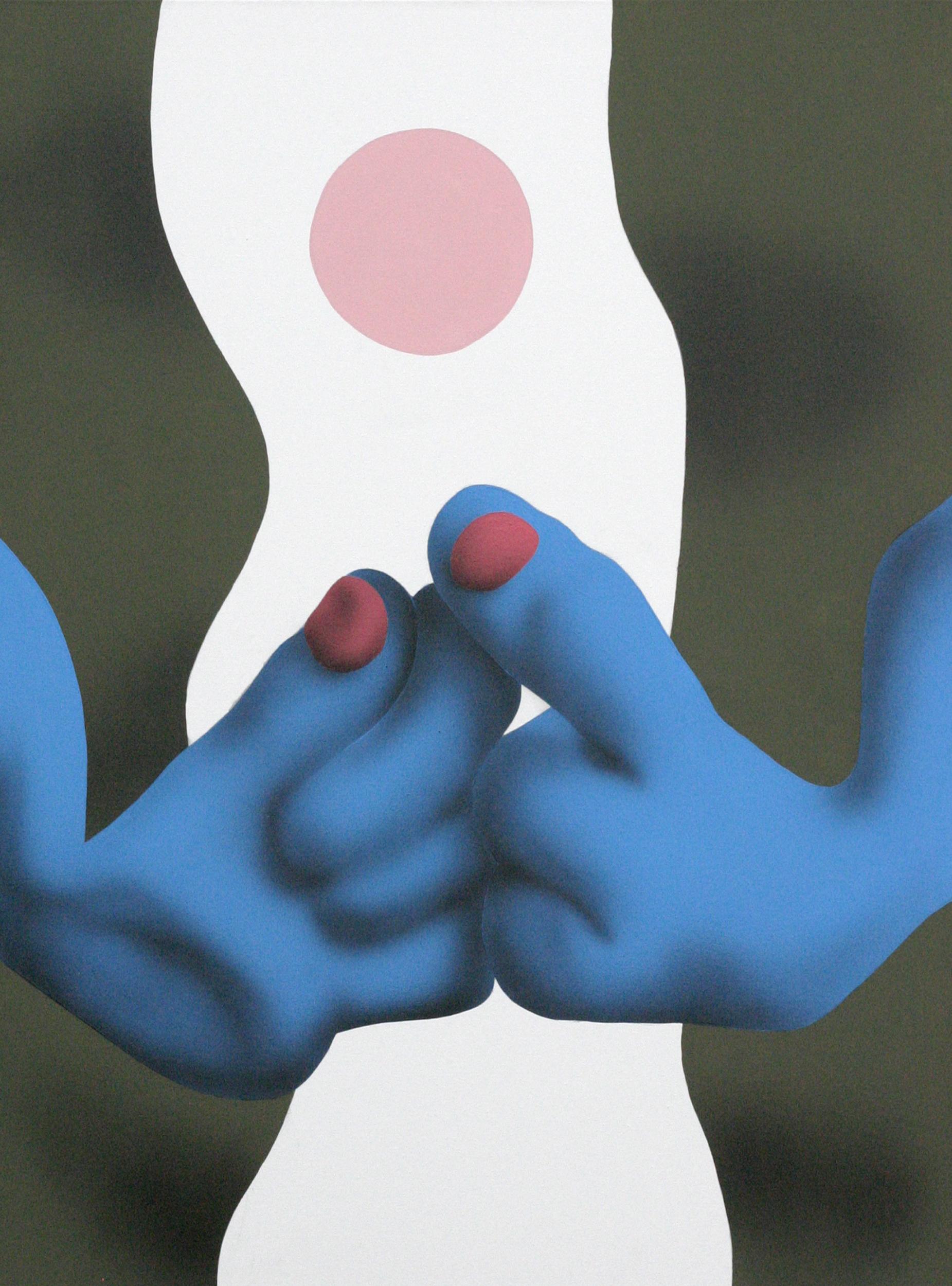 Concentration, 2008, acrylic on canvas, 60 x 80 cm