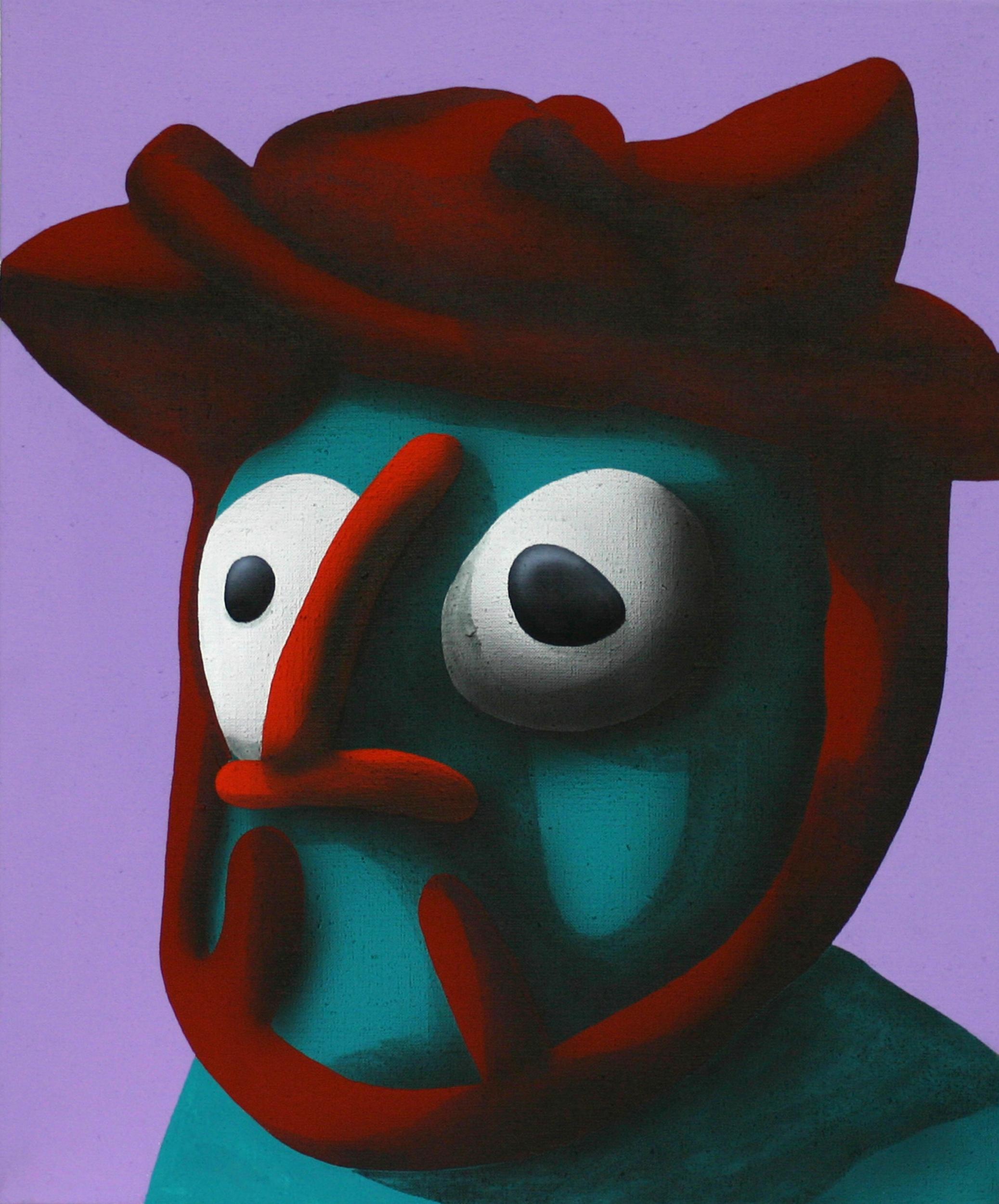 David, 2007, acrylic on canvas, 50 x 40 cm