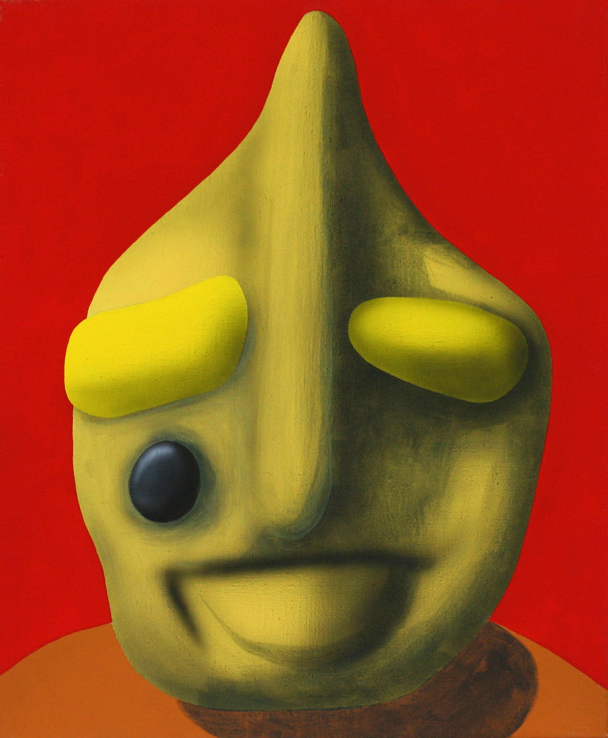 Couda, 2007, acrylic on canvas, 50 x 40 cm