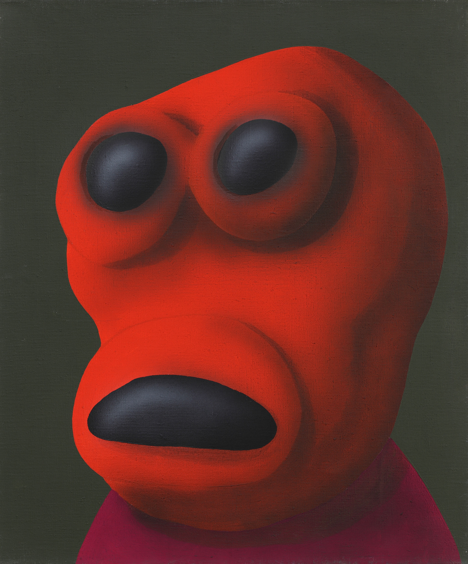 Ondra, 2007, acrylic on canvas, 70 x 60 cm