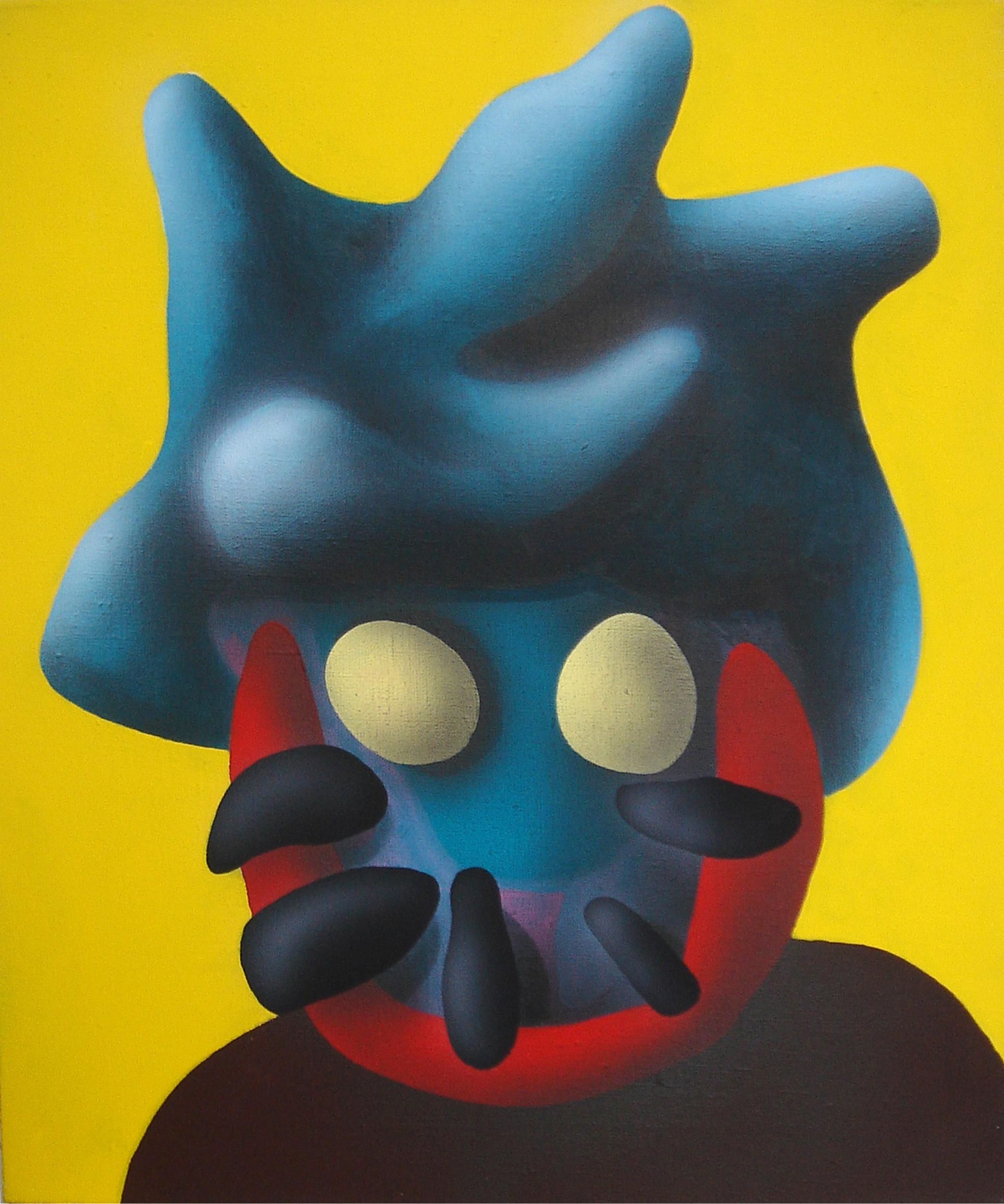 Pepa, 2007, acrylic on canvas, 50 x 40 cm