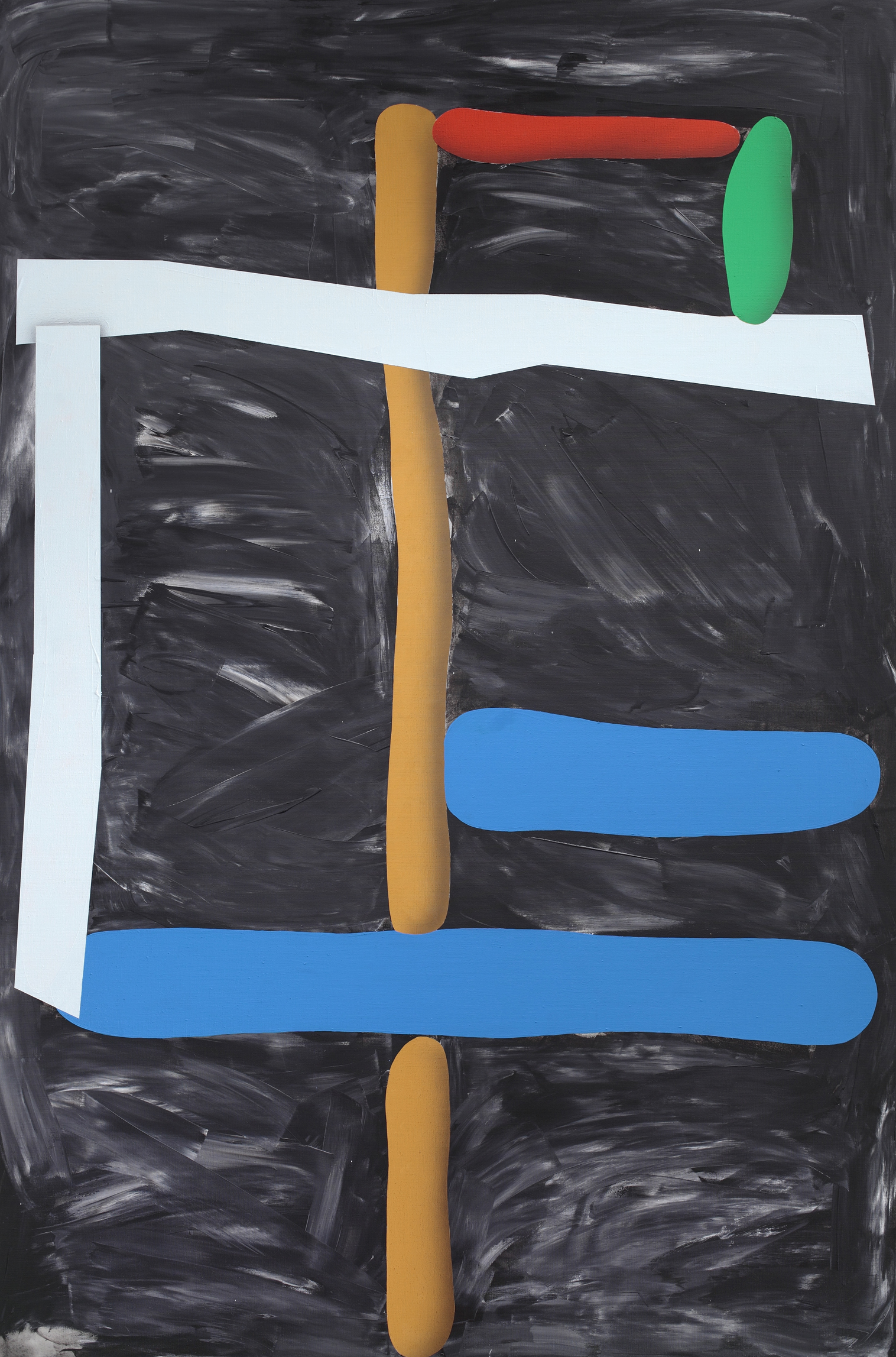 Composition No.2, 2011, acrylic on canvas, 180 x 120 cm