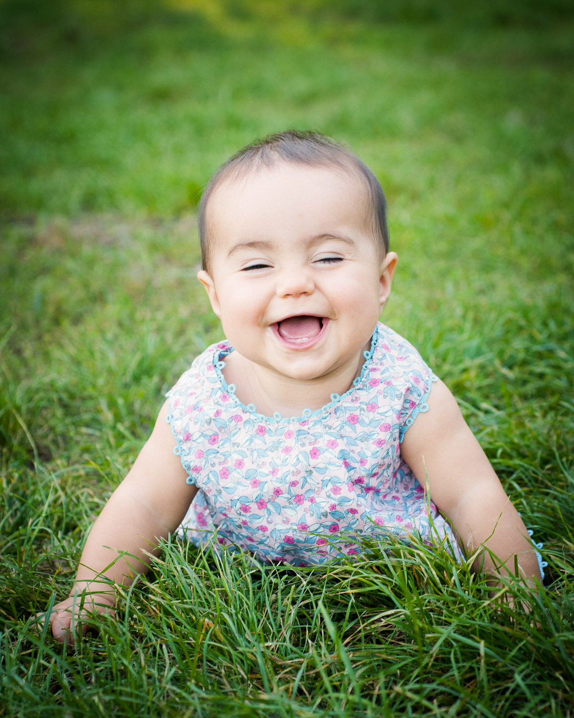 Baby portrait photography - Prospect Park, Brooklyn