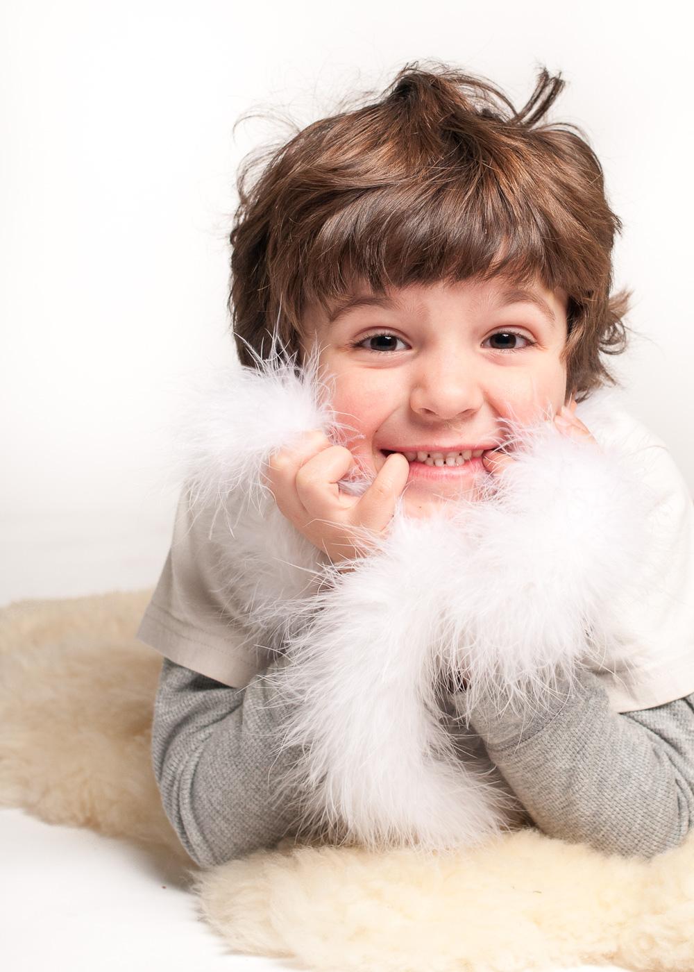 Child portrait photography - Studio