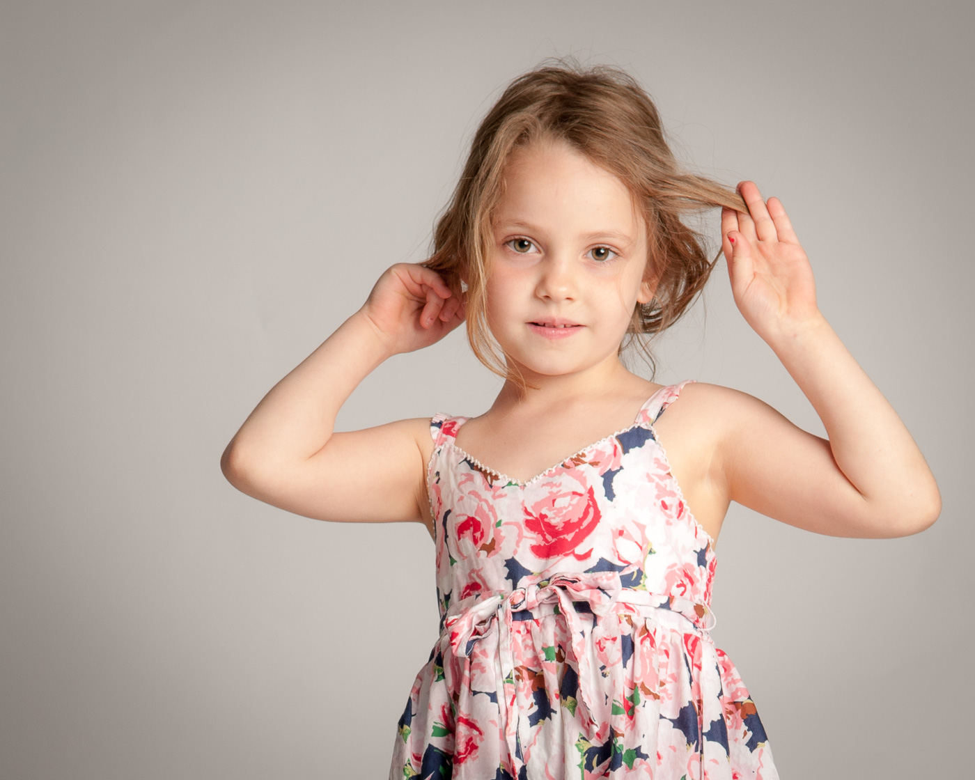 Child portrait photography - Studio