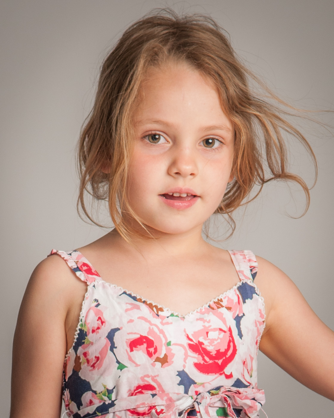 Child studio portrait photography - Brooklyn