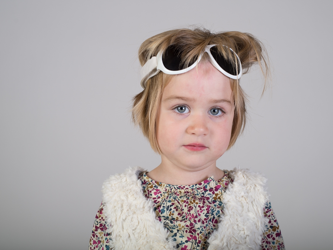 Children's studio portrait photography - Brooklyn