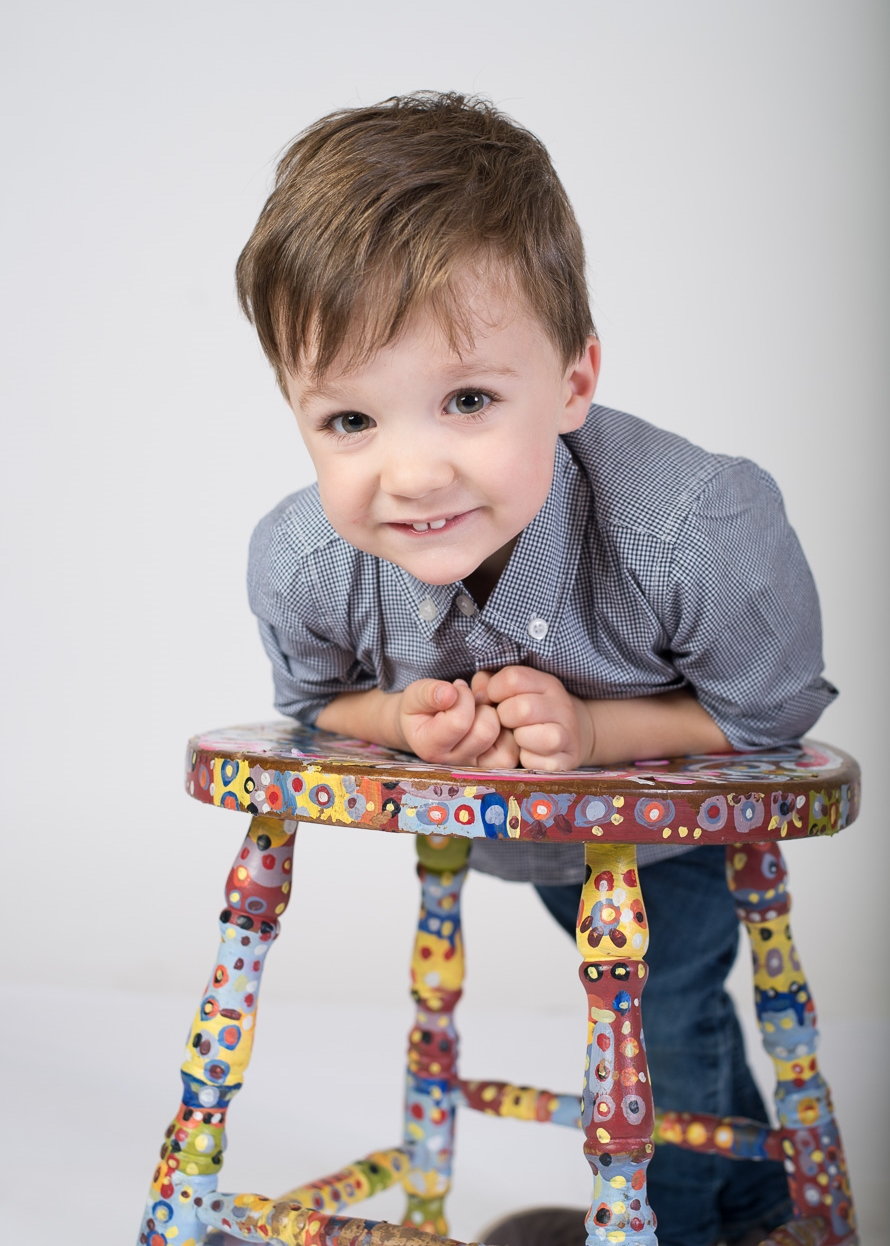 Children's studio portrait photography - Brooklyn