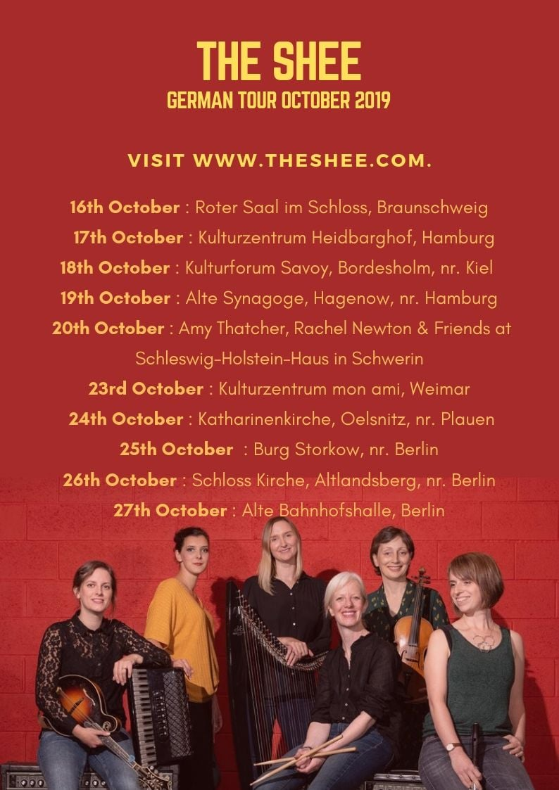 The Shee tour poster