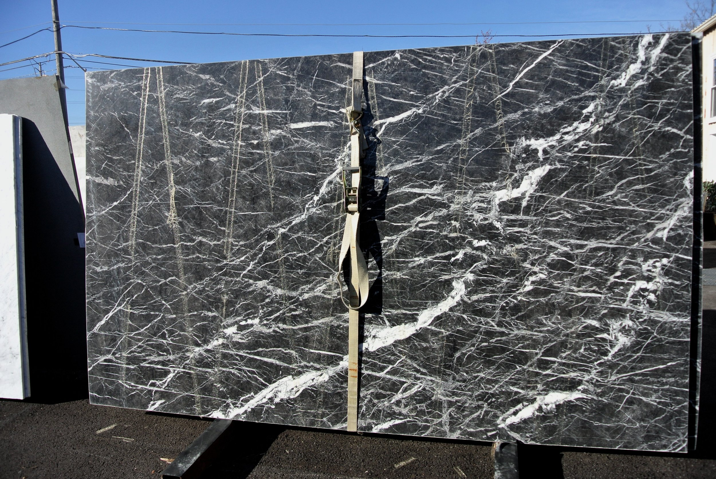 Nero Marquina Marble, 3 cm