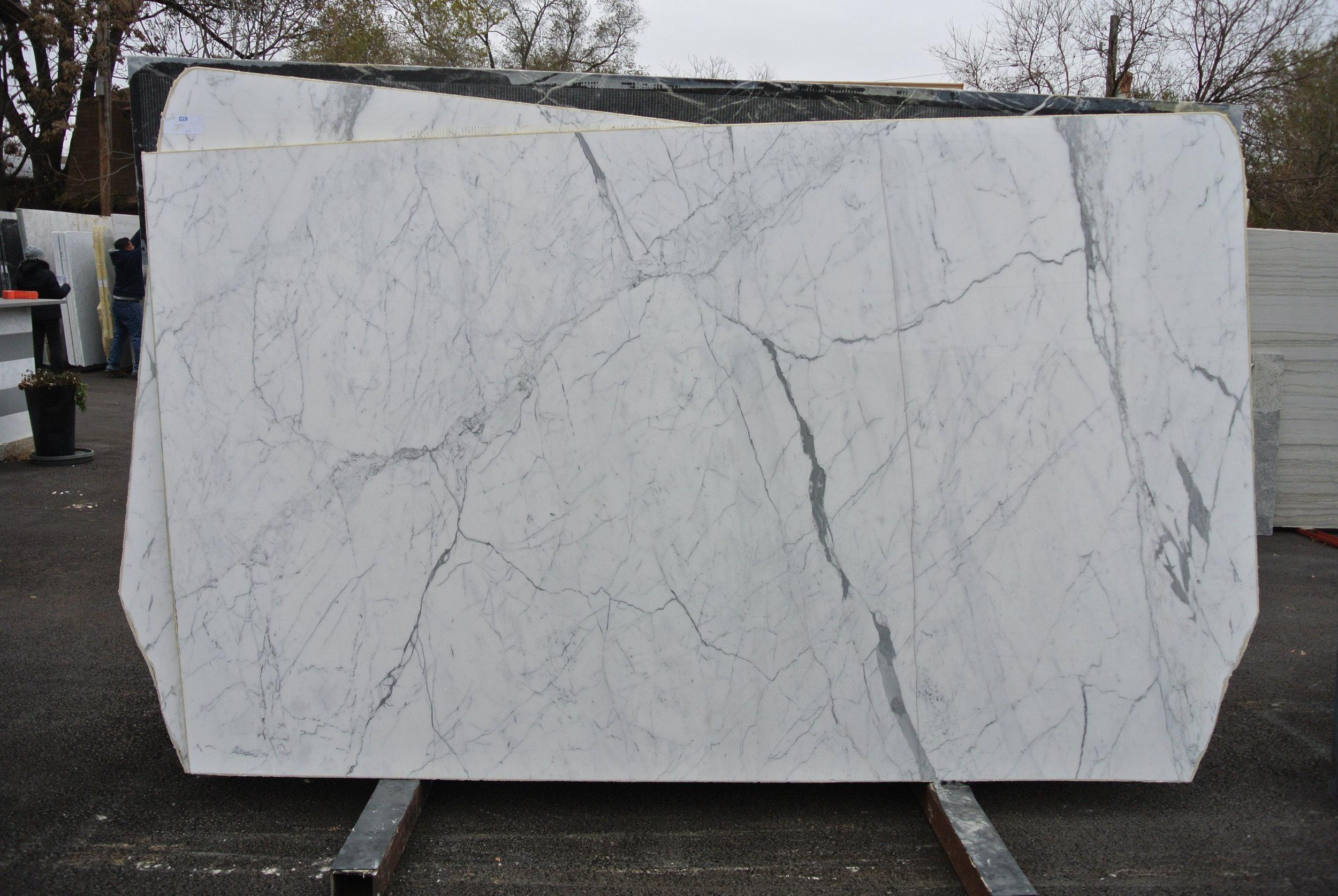 Statuario Extra Marble from Carrara at Blue Pearl