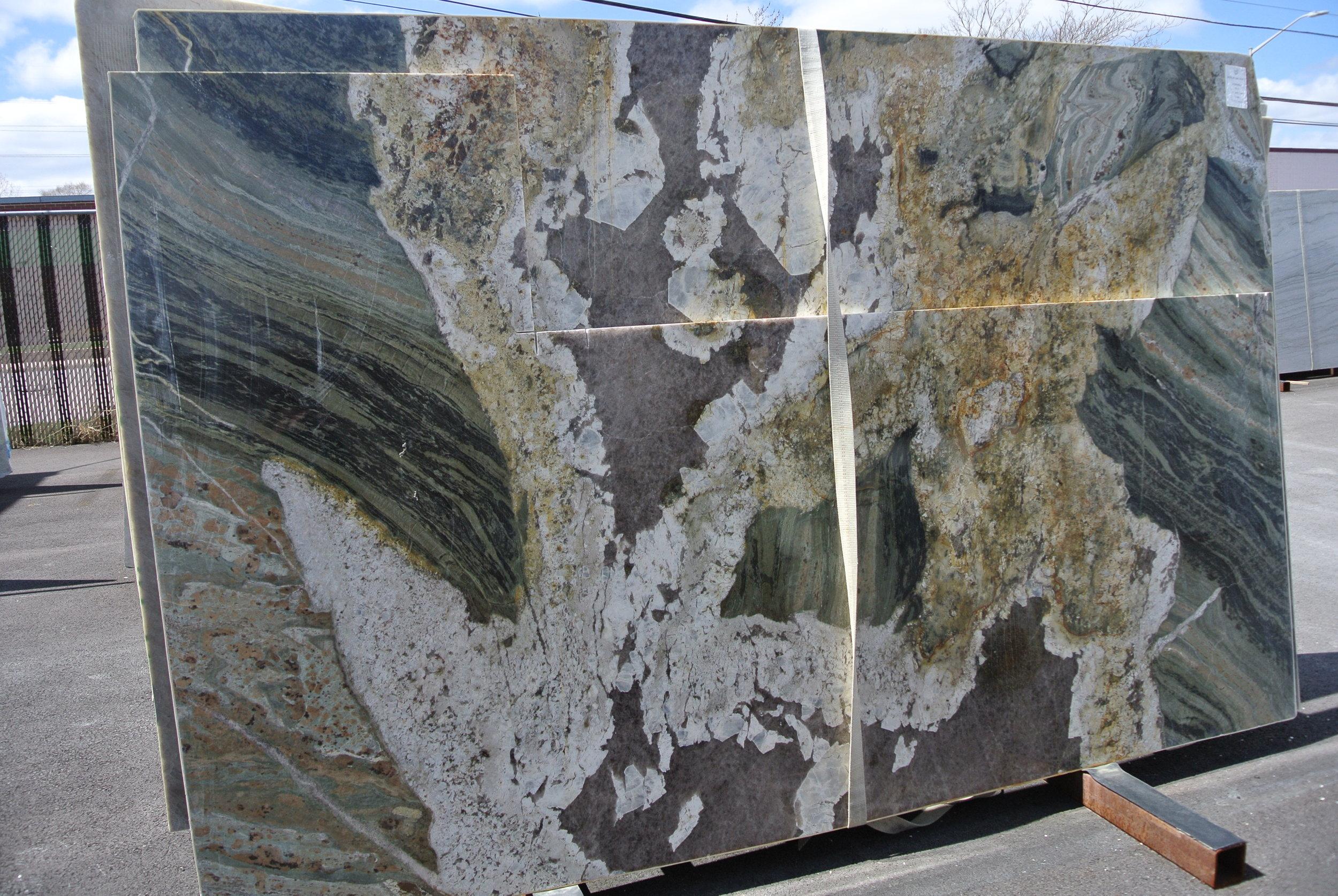 Smithsonian, Mixed Stone Type, 3cm, Polished