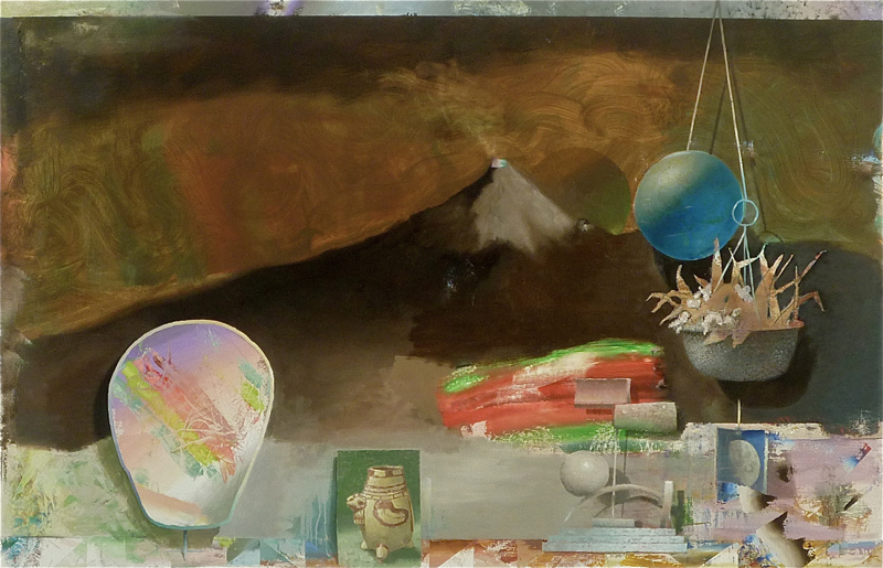 "Bryson Gill  ""New (after Frederic Edwin Church)"" (2011) Oil on canvas, 38 x 59 in. Enlarge Image"