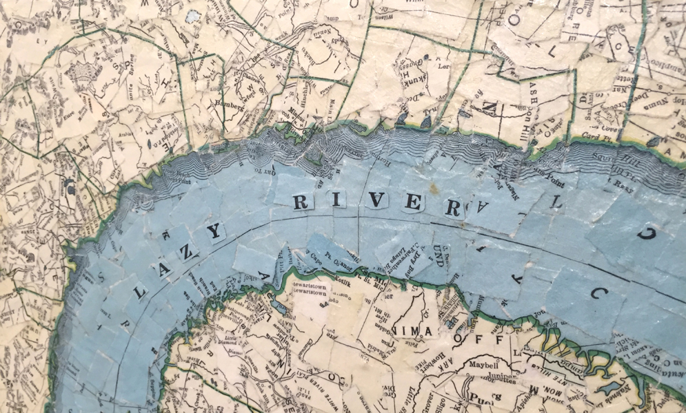 """""""Lazy River"""" (detail)"""