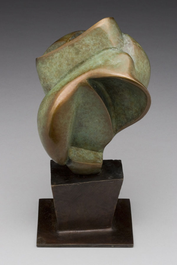 """""""Apothecary"""" (2006)<br>Cast bronze, 9 x 4.5 x 4.5 in. Ed. of 9"""