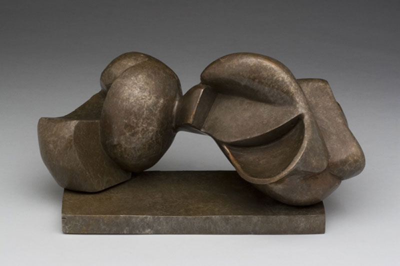 """Sumo"" (2006)<br>Cast bronze, 6 x 10.5 x 4 in., ed. of 1"