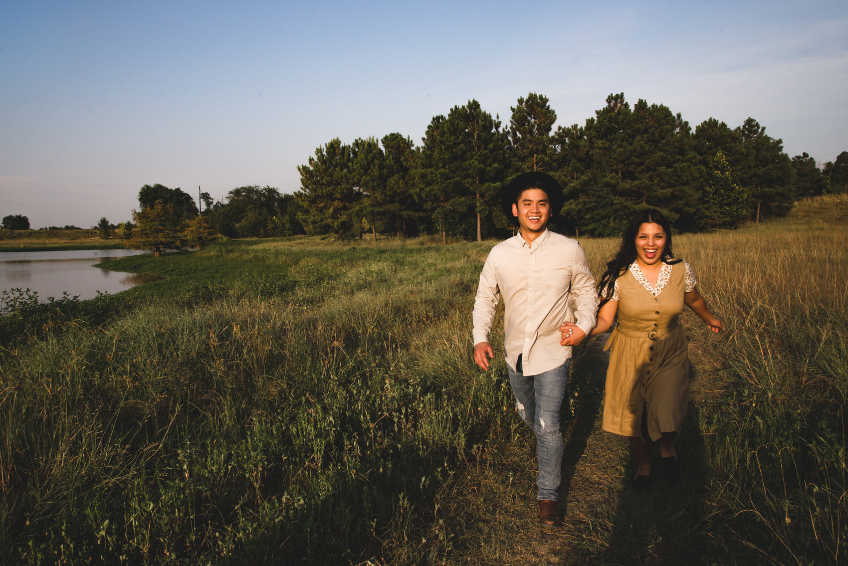 katy texas engagement session houston austin outdoor engagement session sunset inez lara photography best wedding colorado rockies elopment love destination wedding photgrapher in texas