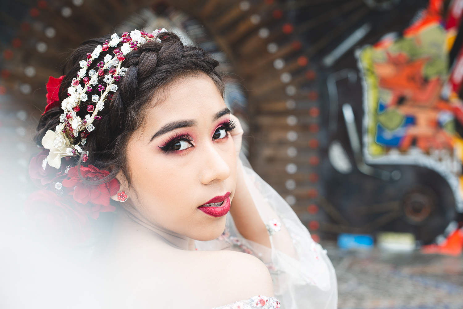 QUINCEANERA PORTRAIT SESSION IN HOUSTON TEXAS -
