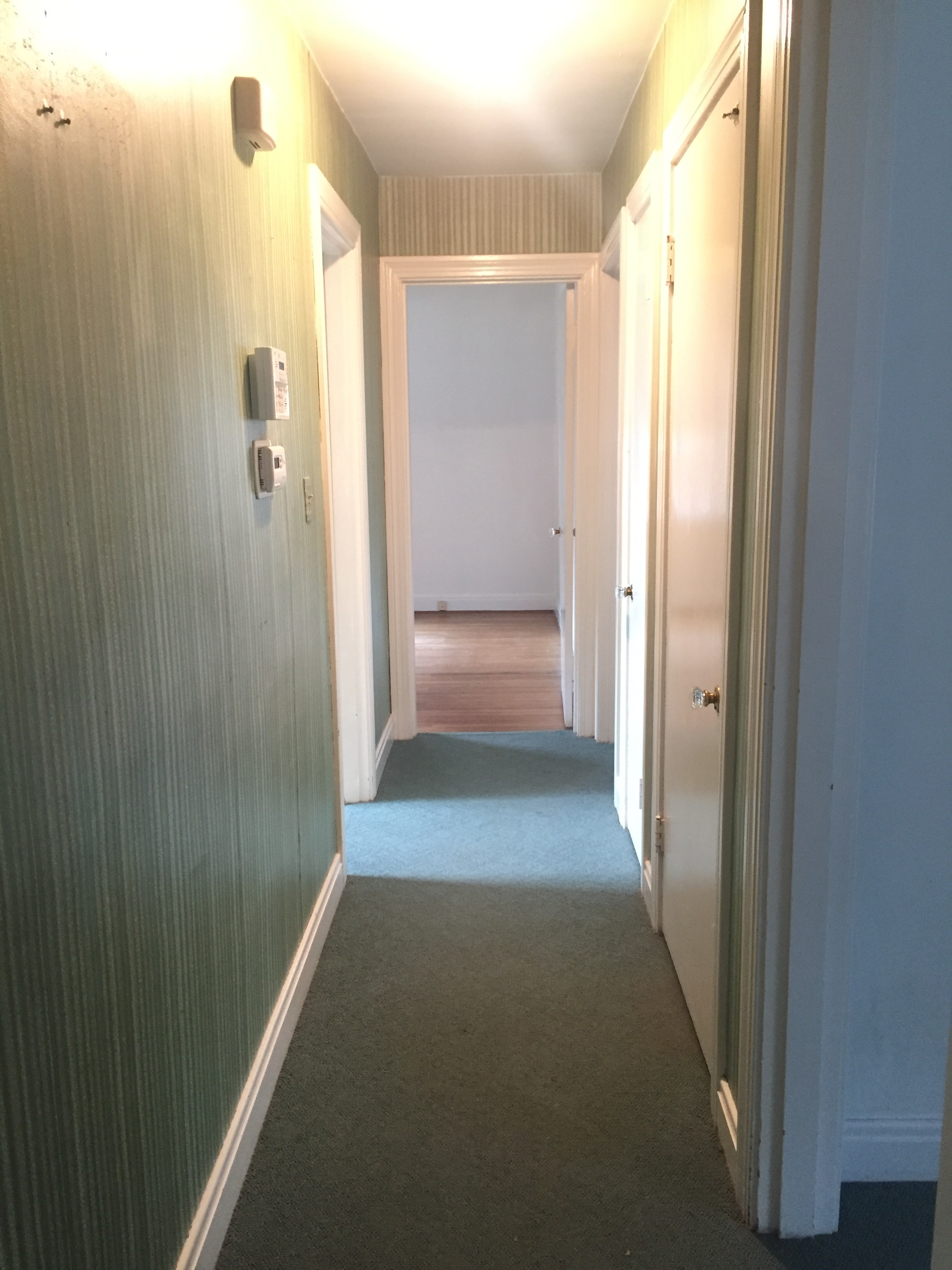 Hallway to first floor bedrooms