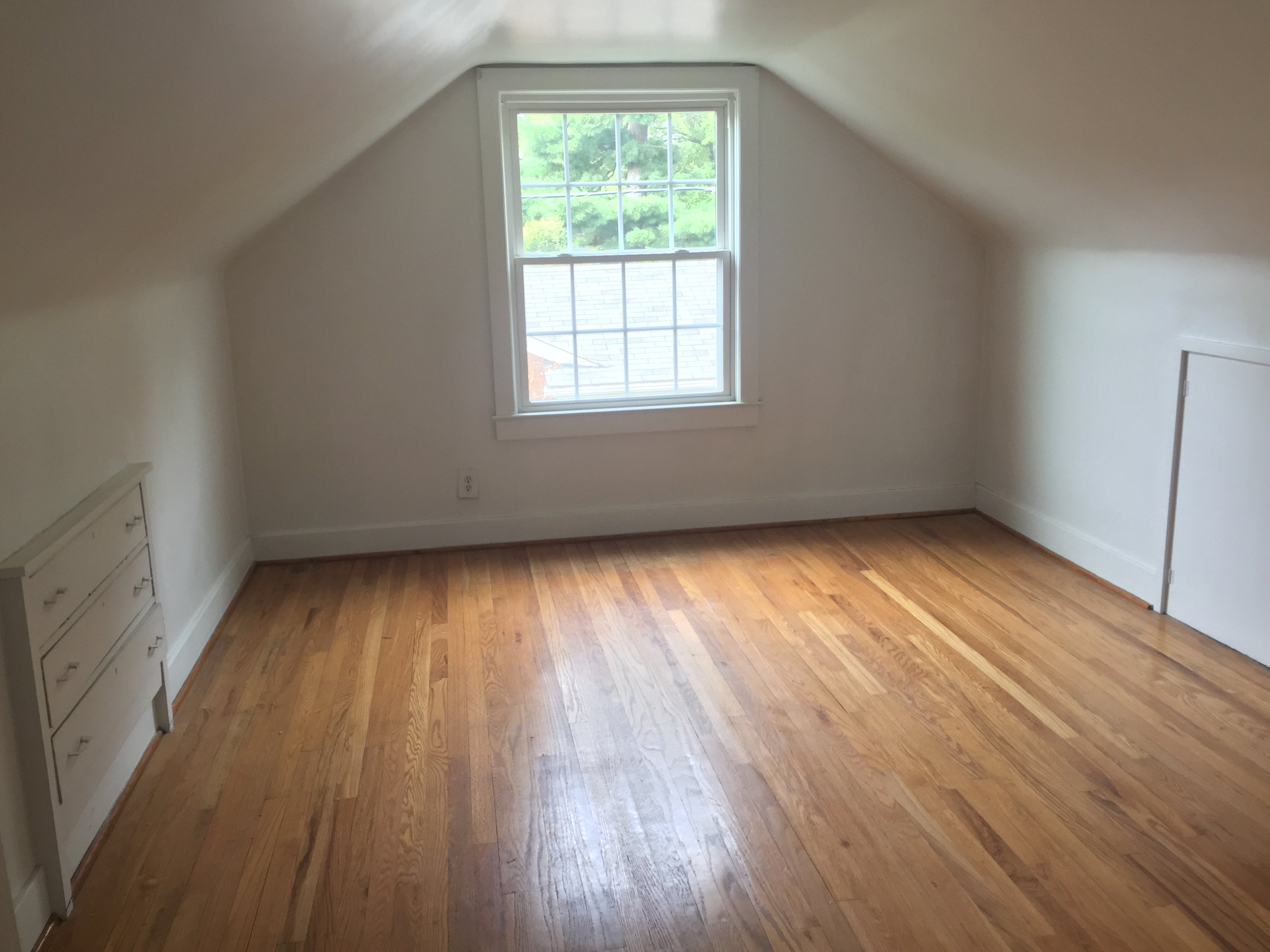 Second floor, first bedroom