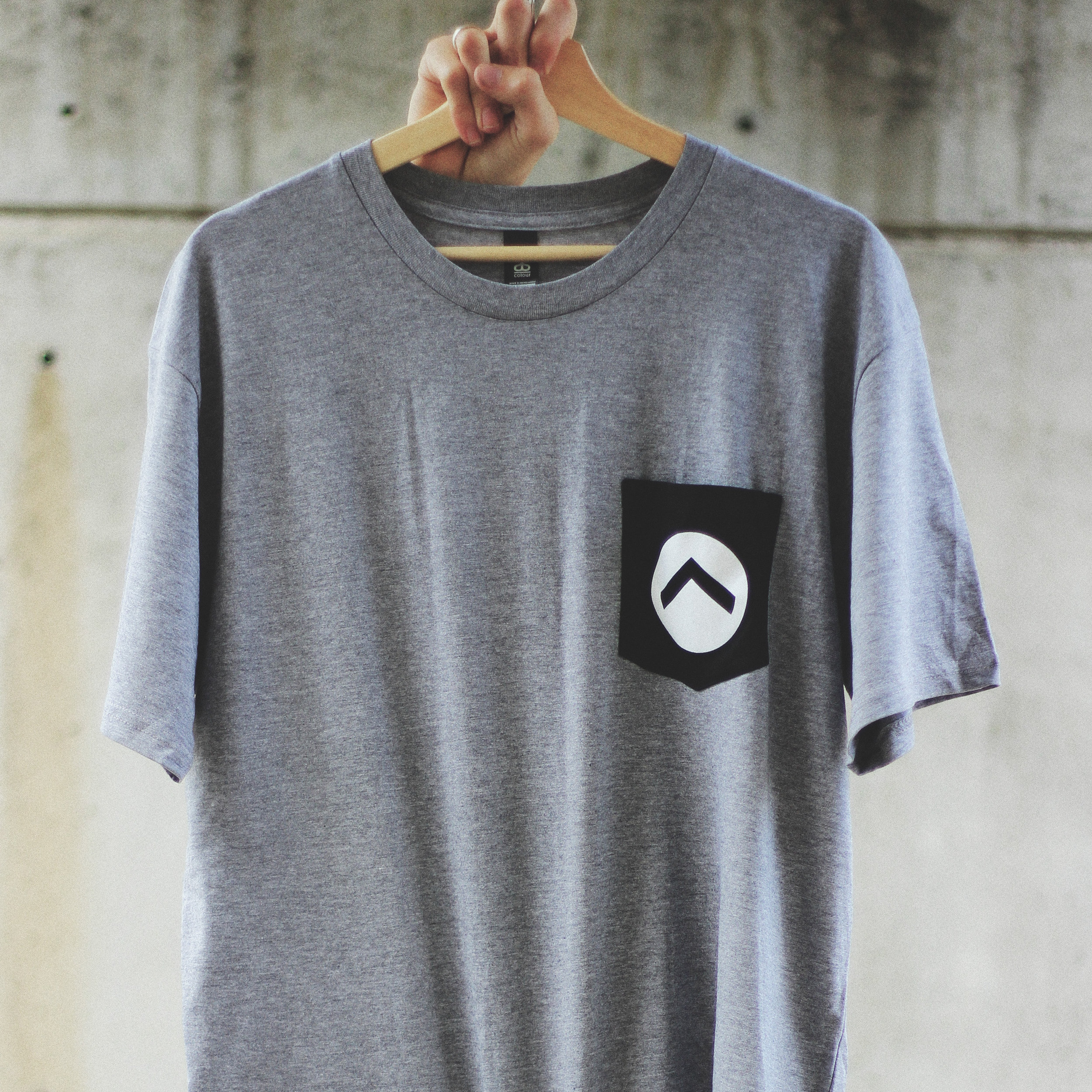 Pocket Tee - Printed on AS ColourStaple Tee