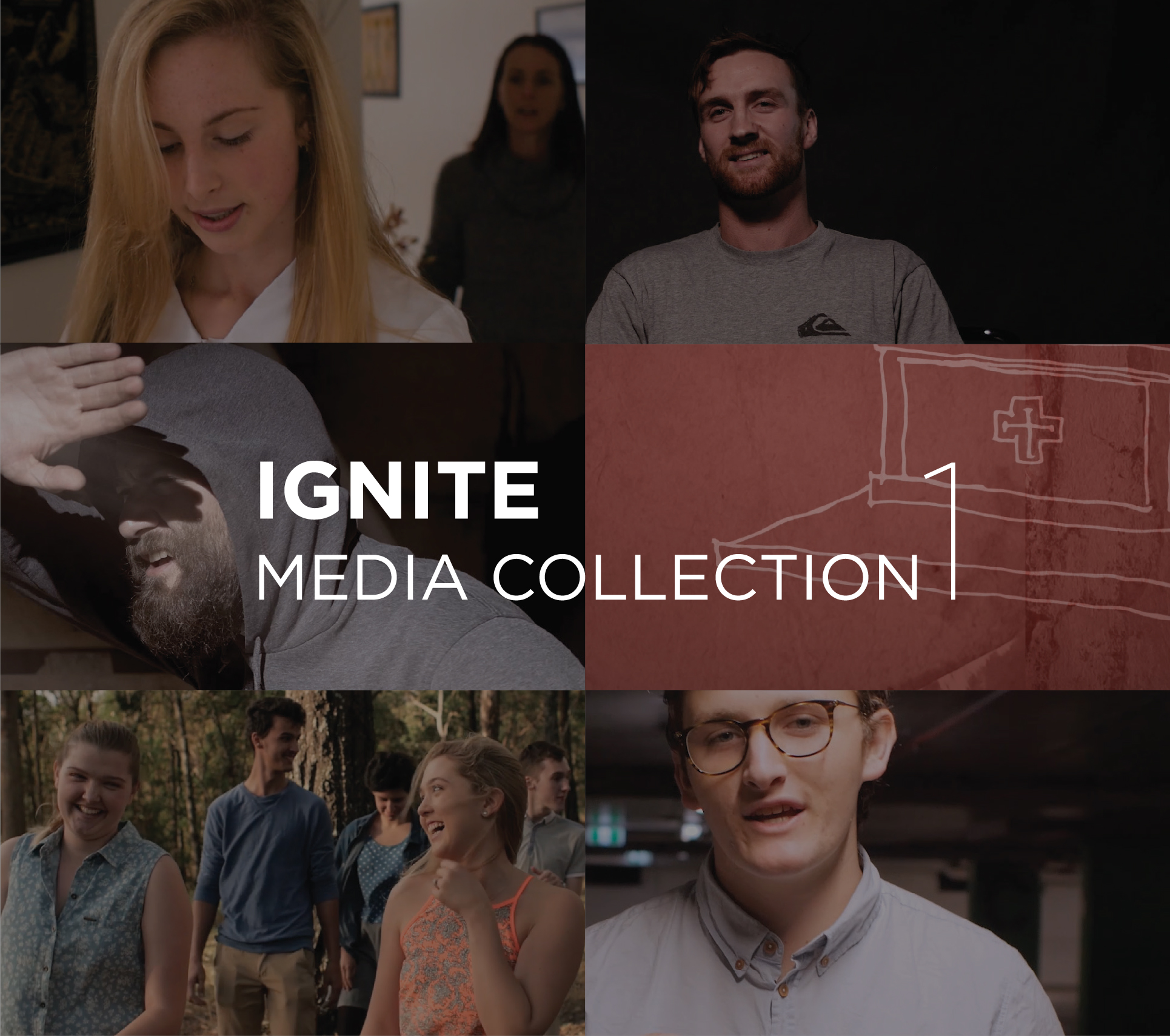 """Media Collection 1 - All the best Ignite Youth videos in one place.Media Collection USB. A collection of videos created by Ignite Youth to inspire, uplift and engage young people. Covering Mass, adoration, reconciliation & forgiveness, mercy, body image and more!Includes: """"One Body"""