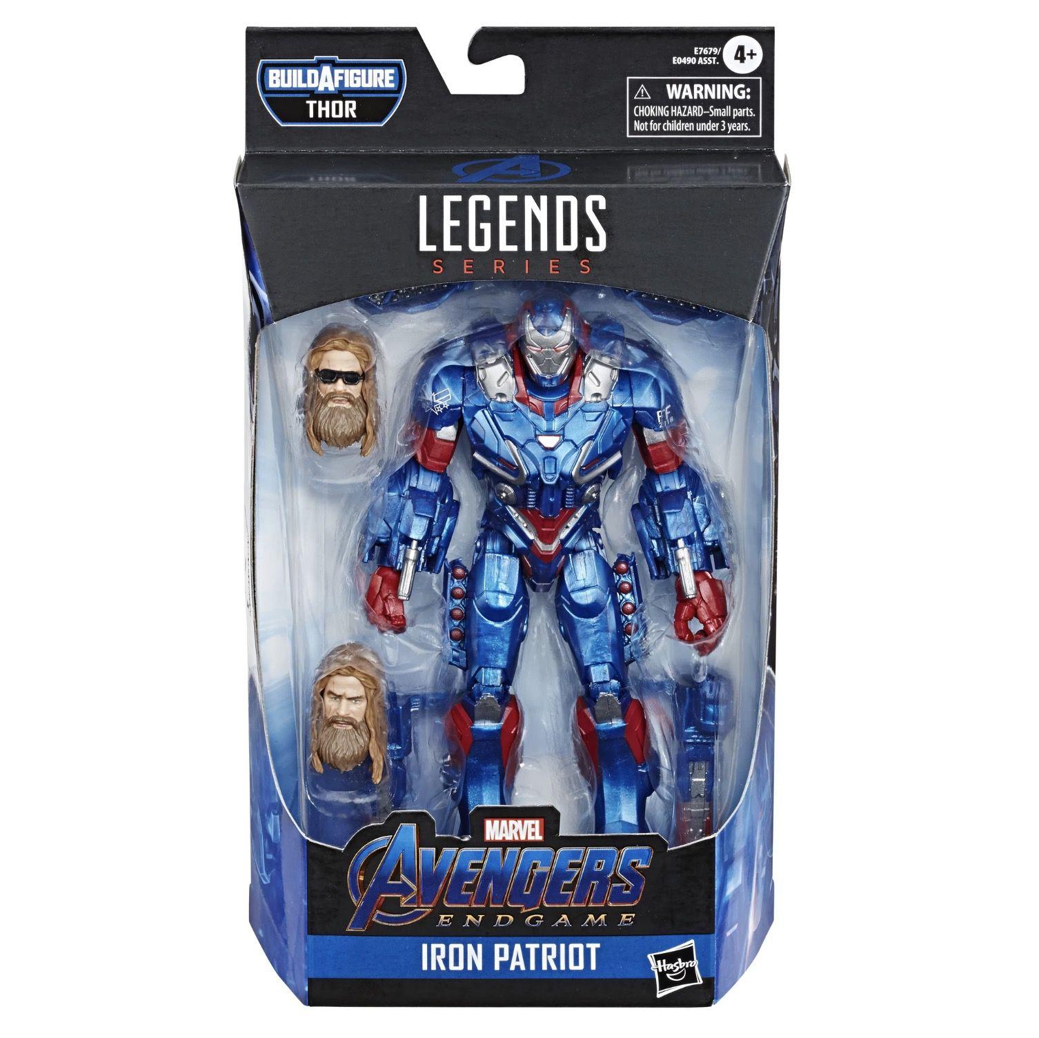 Marvel Legends Series Avengers: Endgame Iron Patriot
