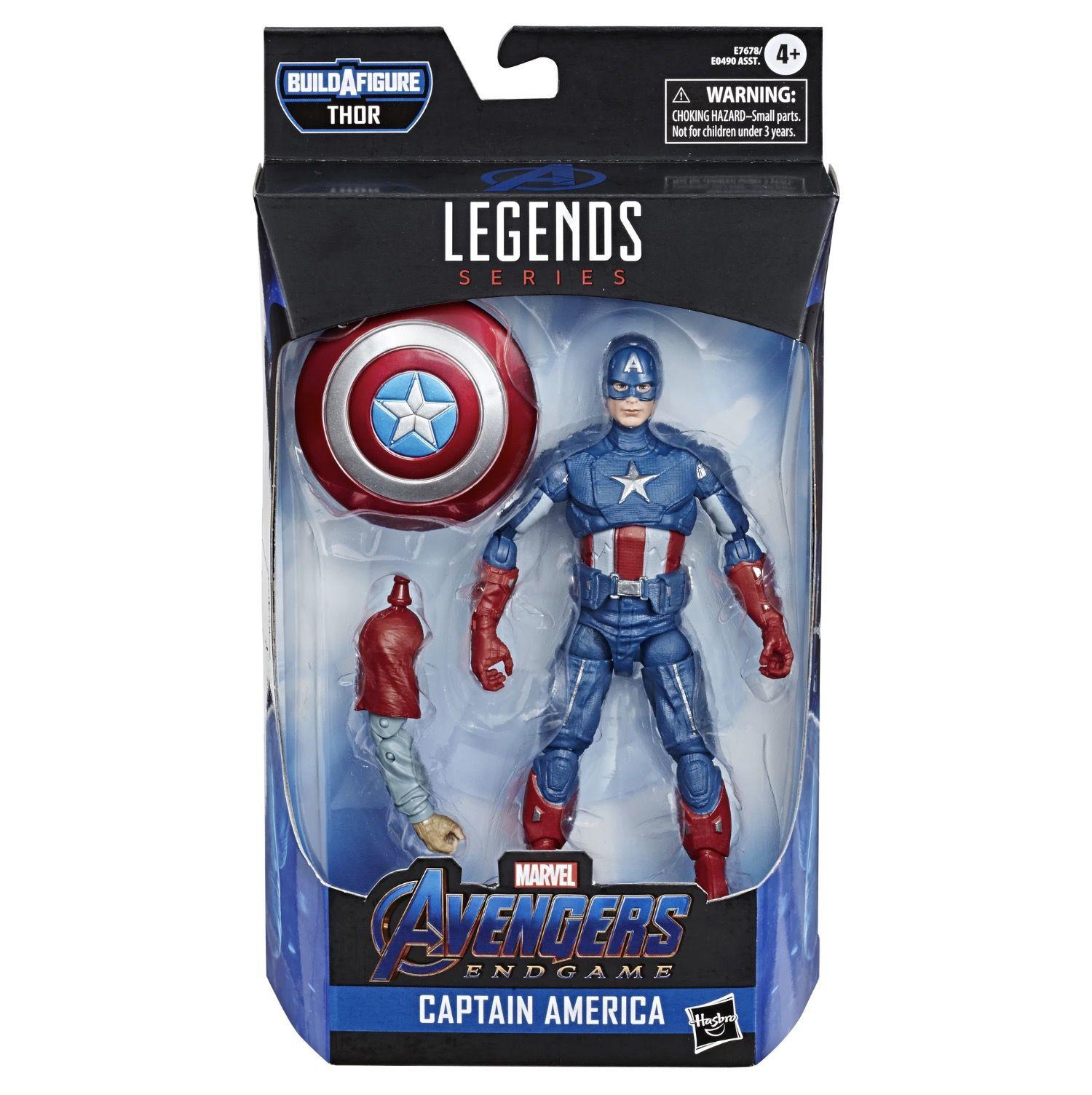 Marvel Legends Series Avengers: Endgame Captain America