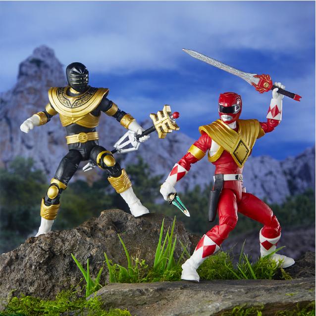 Power Rangers Lightning Collection Mmpr Red Ranger & Zeo Gold Ranger