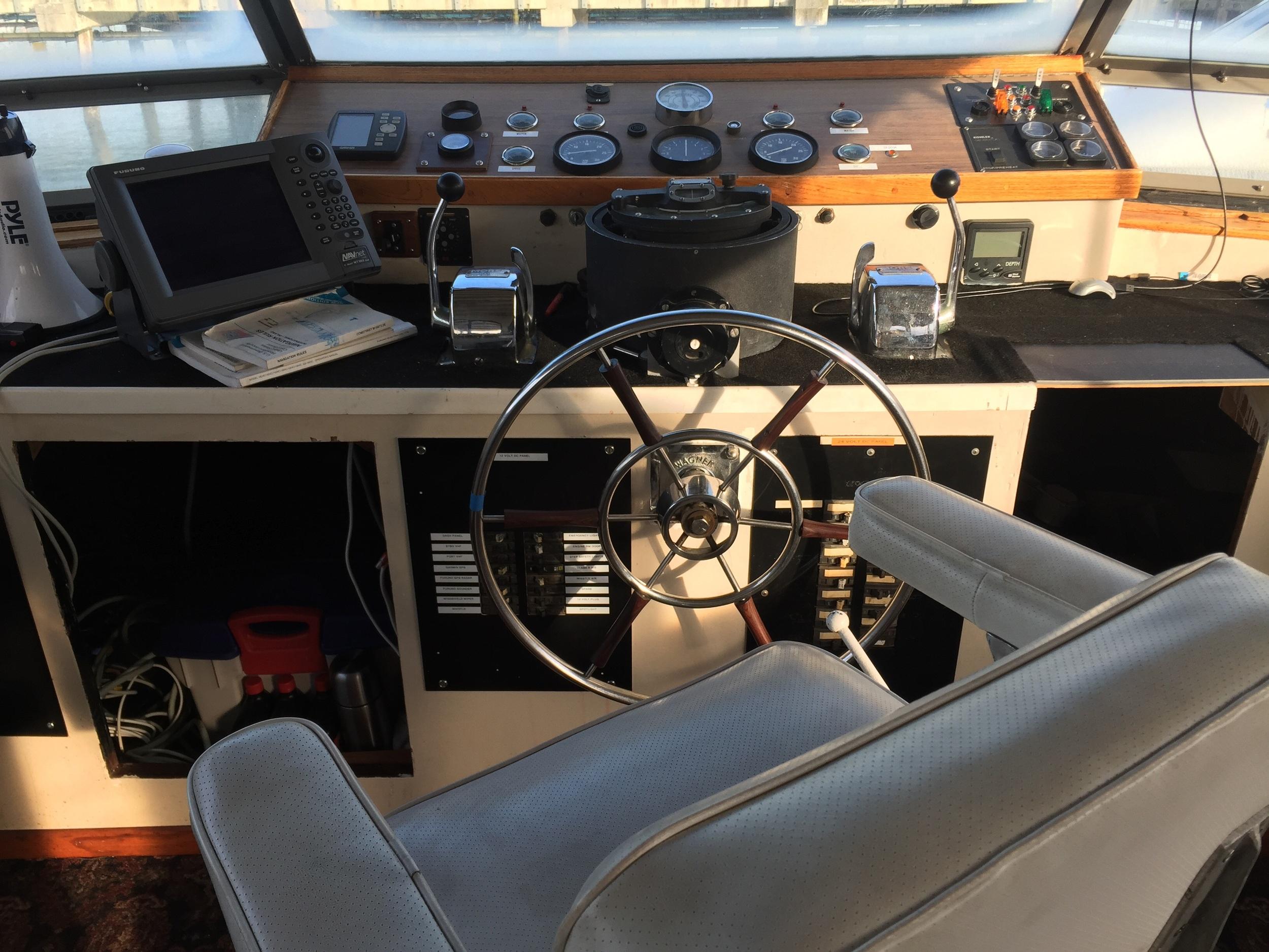 Captains control room