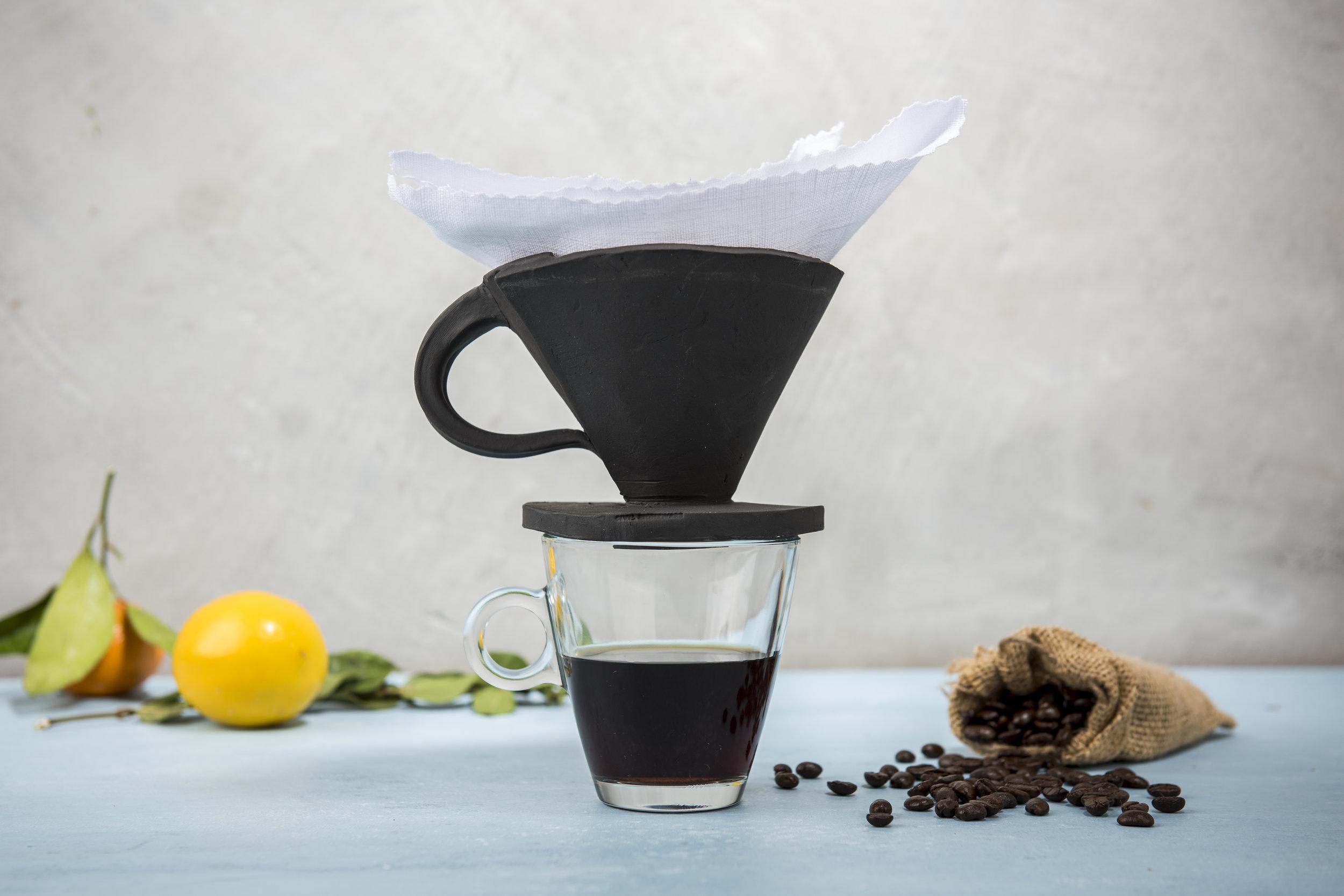 Clay Coffee Dripper
