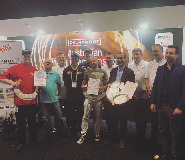Winners and judges! Thank you to our judges! #dairymontaustralianpizzachampionships2018